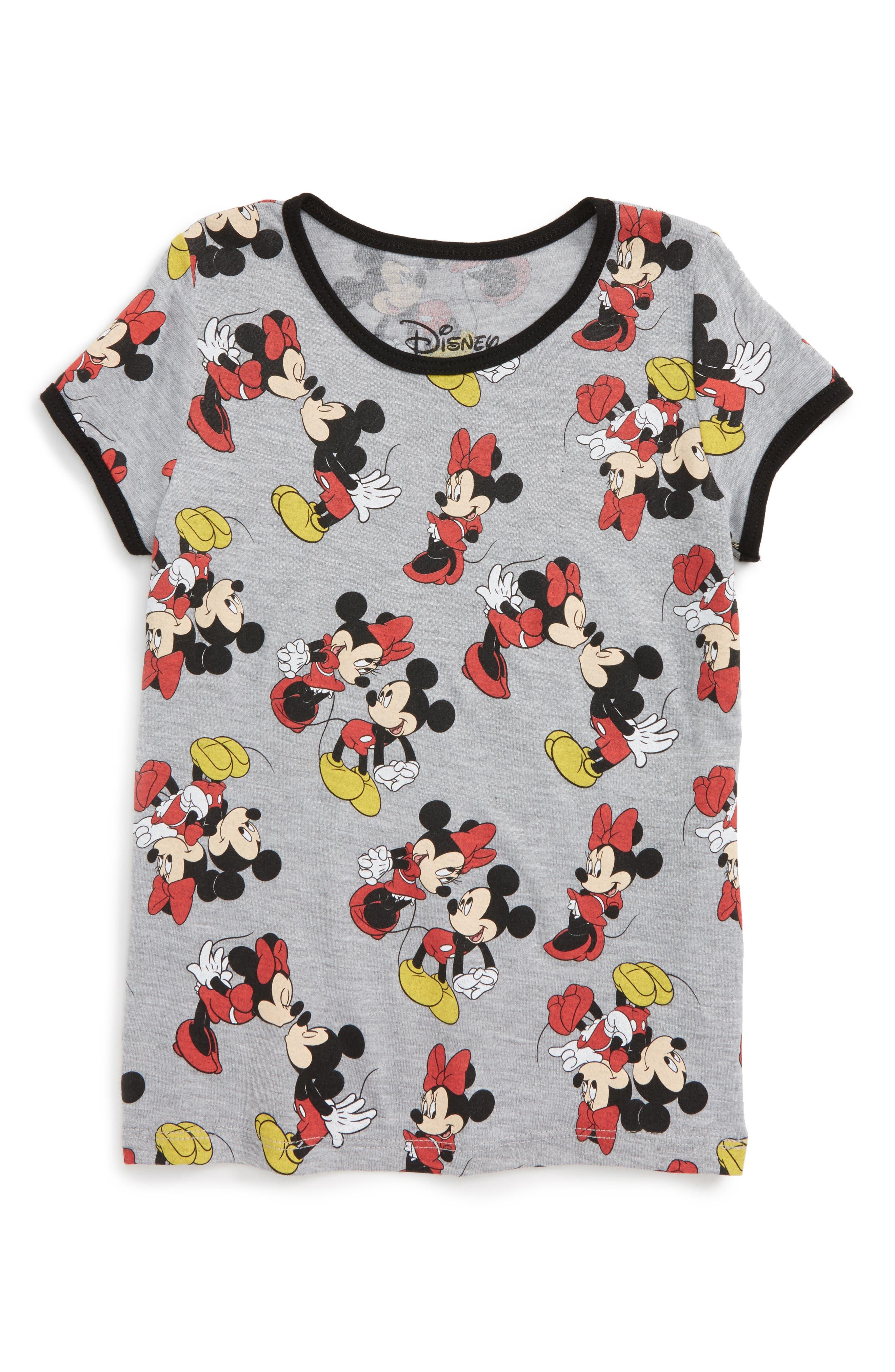 Mighty Fine Disney - Smooches Graphic Tee (Toddler Girls, Little Girls & Big Girls)