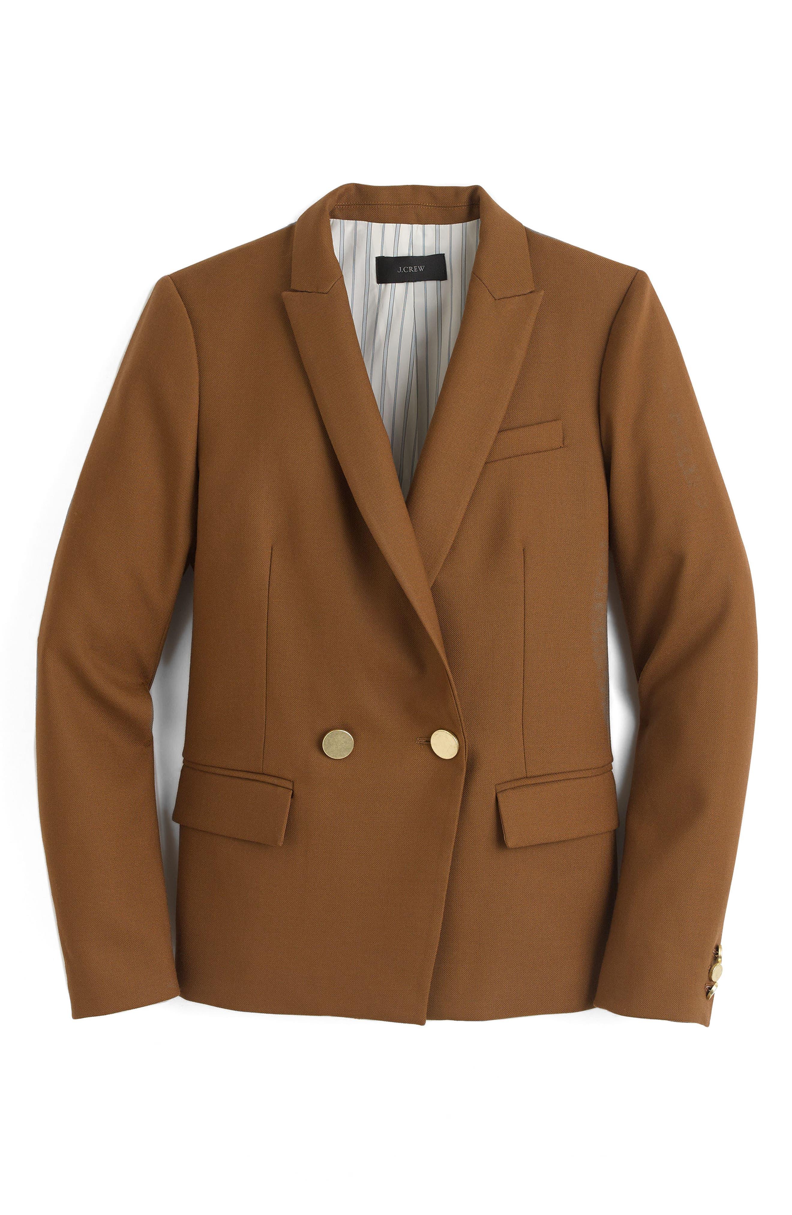 J.Crew Dover Italian Wool Blazer (Regular & Petite)