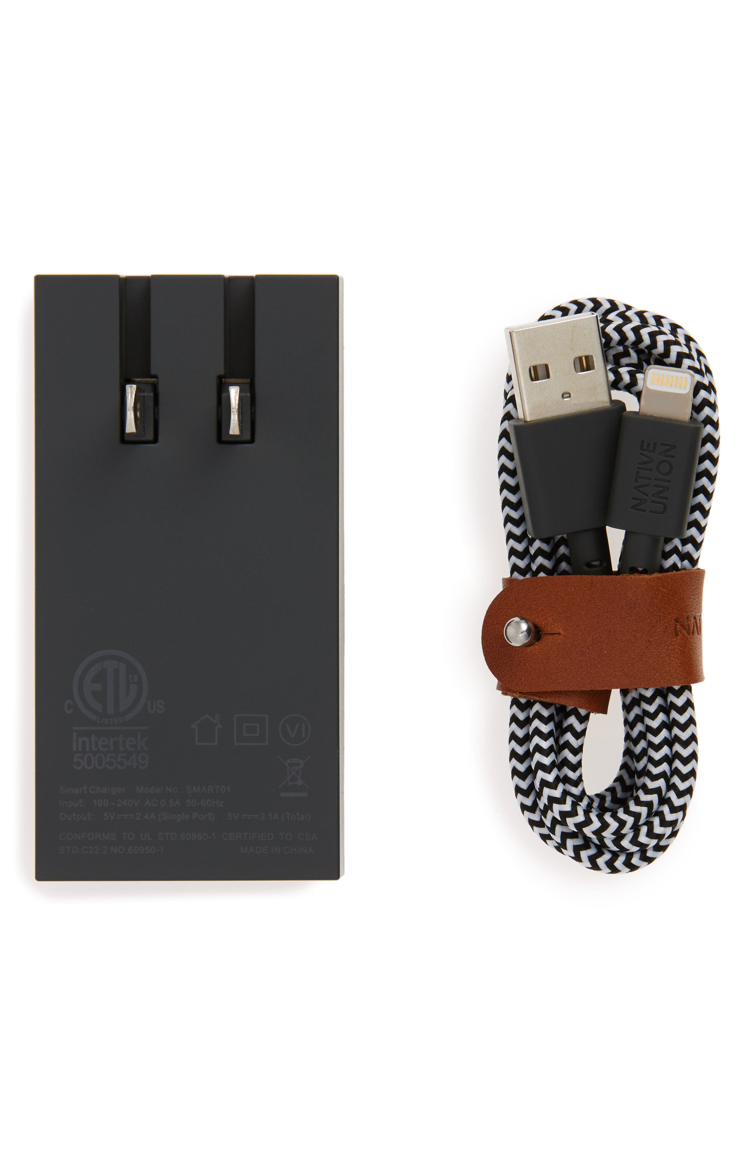 Native Union Lightning Cable & 2-Port USB Charger Set