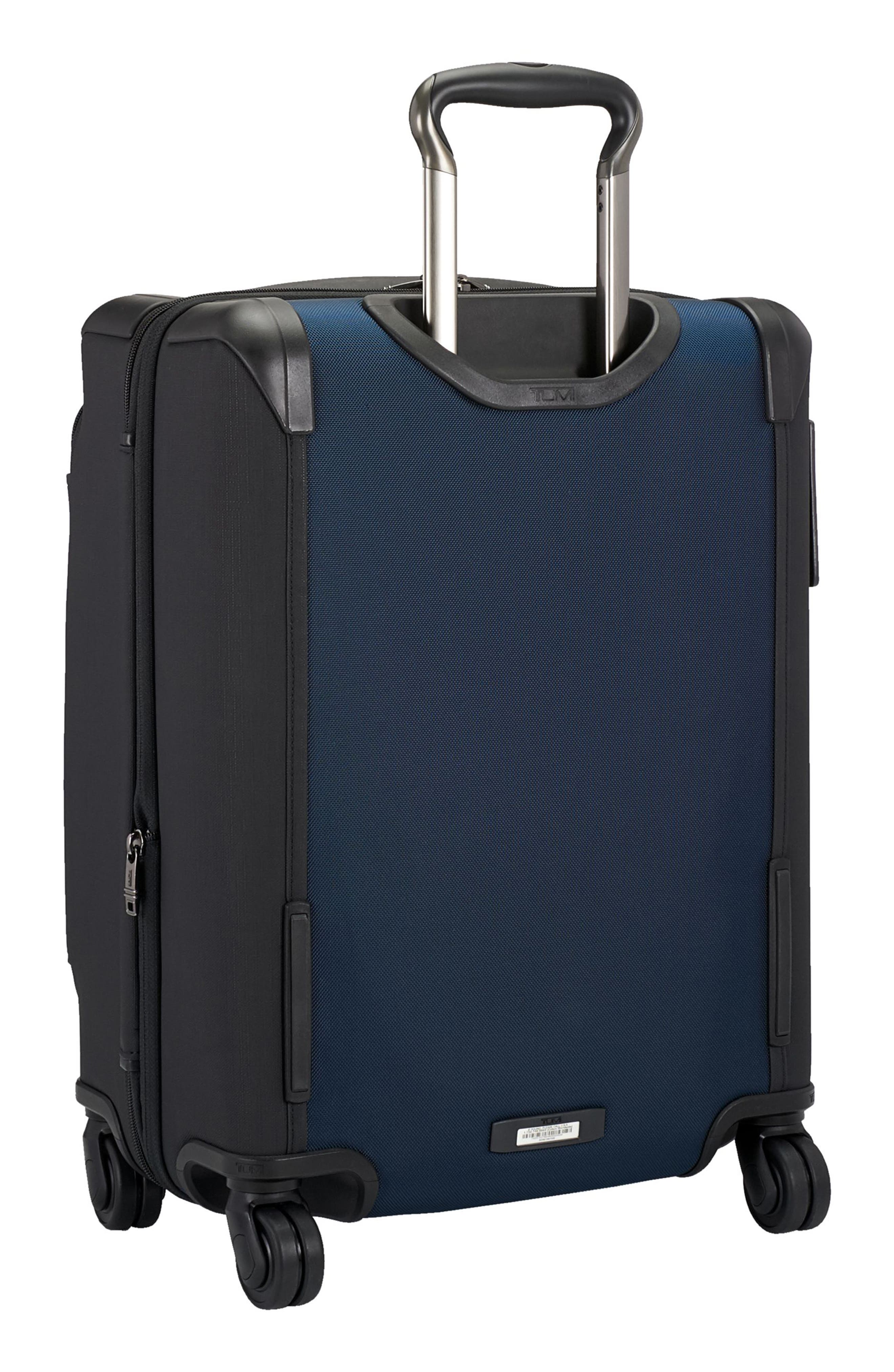 Alpha 2 22-Inch Continental Carry-On,                             Alternate thumbnail 4, color,                             Navy/ Black