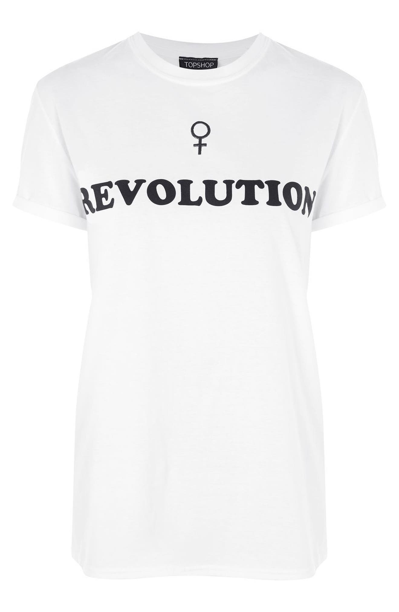Alternate Image 3  - Topshop Female Revolution Graphic Tee