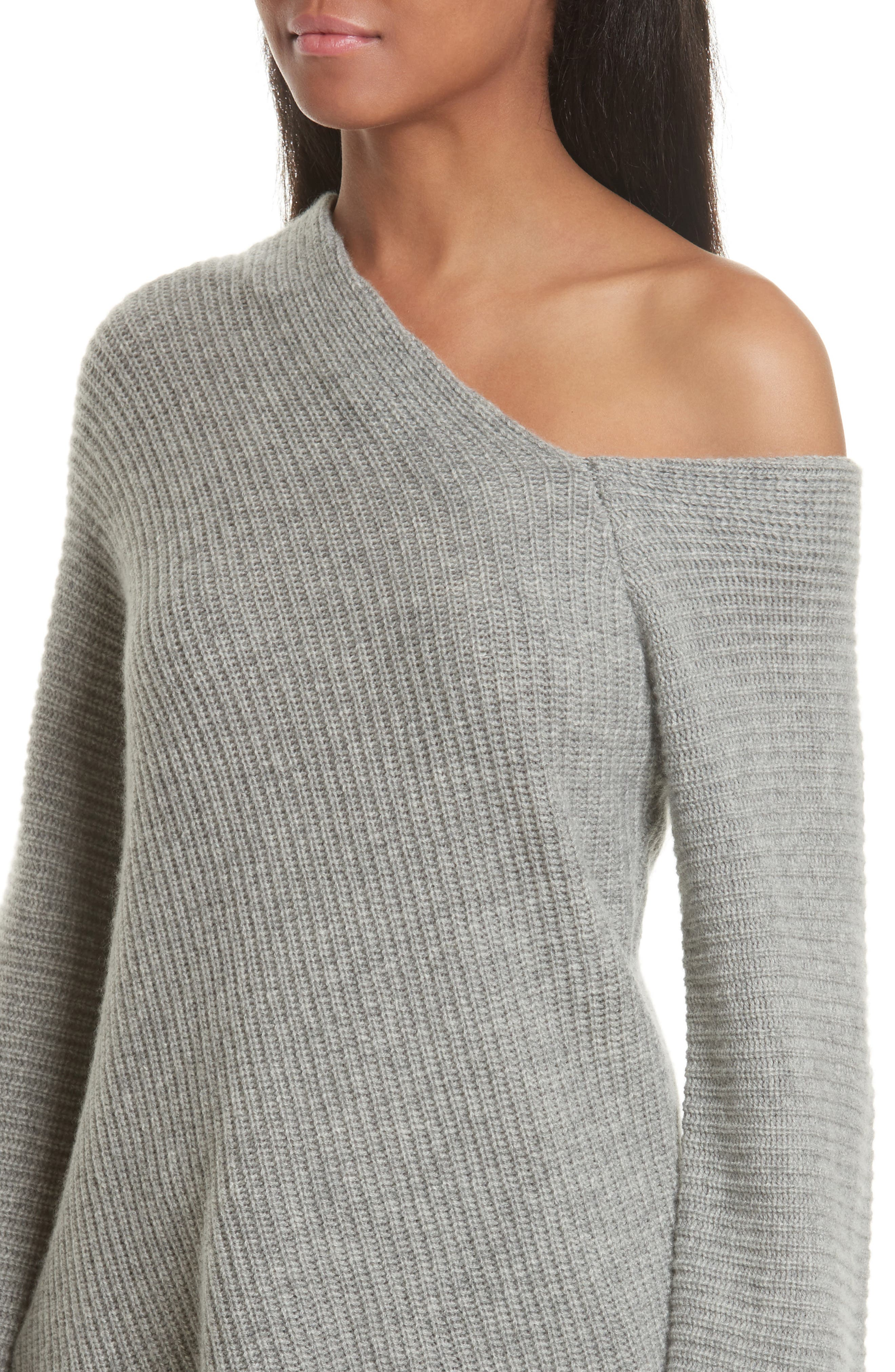 Alternate Image 5  - A.L.C. Charly Wool & Cashmere One-Shoulder Sweater