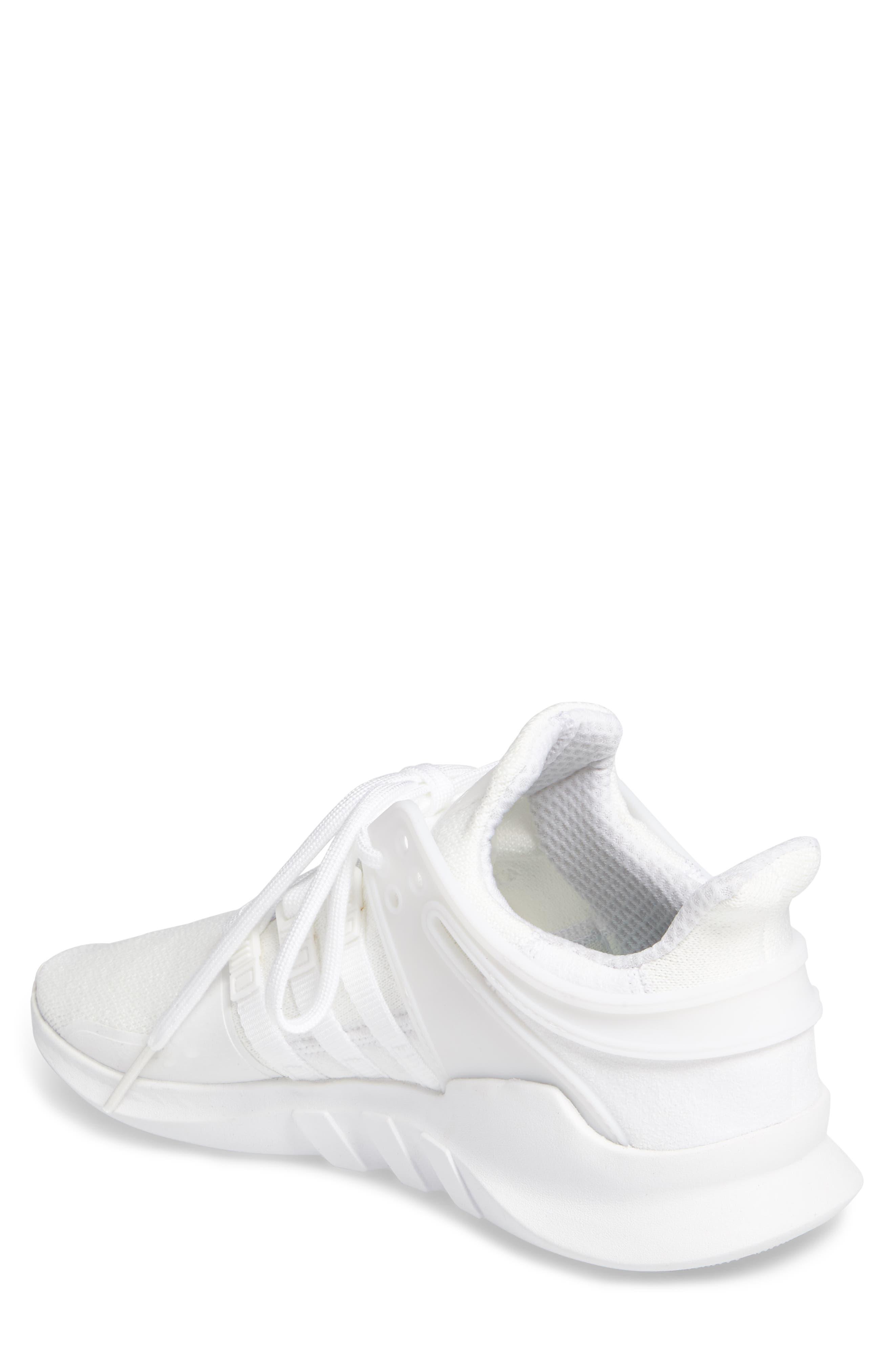 EQT Support Adv Sneaker,                             Alternate thumbnail 2, color,                             White/Core Black