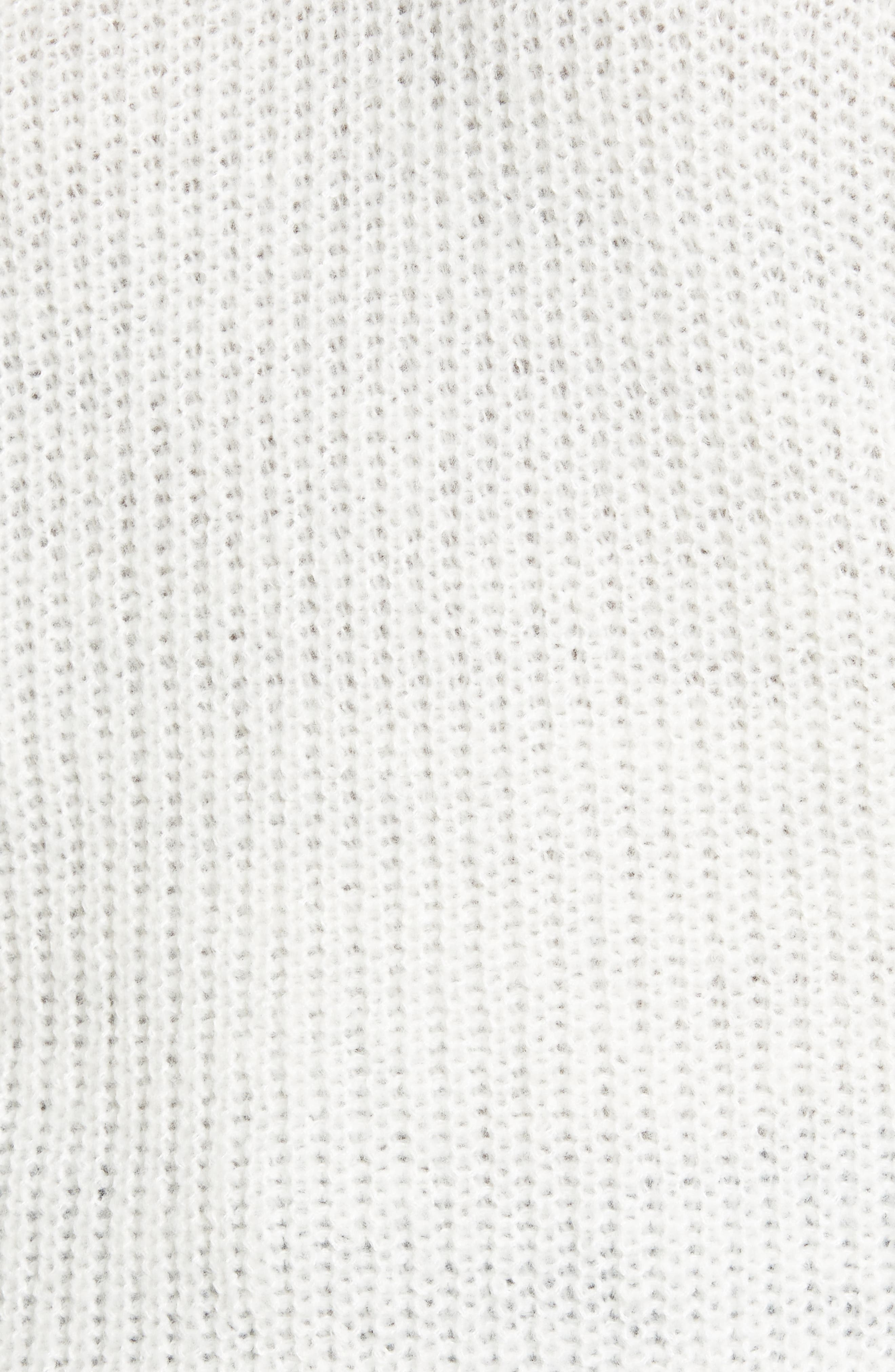 Bubble Sleeve Sweater,                             Alternate thumbnail 5, color,                             Ivory