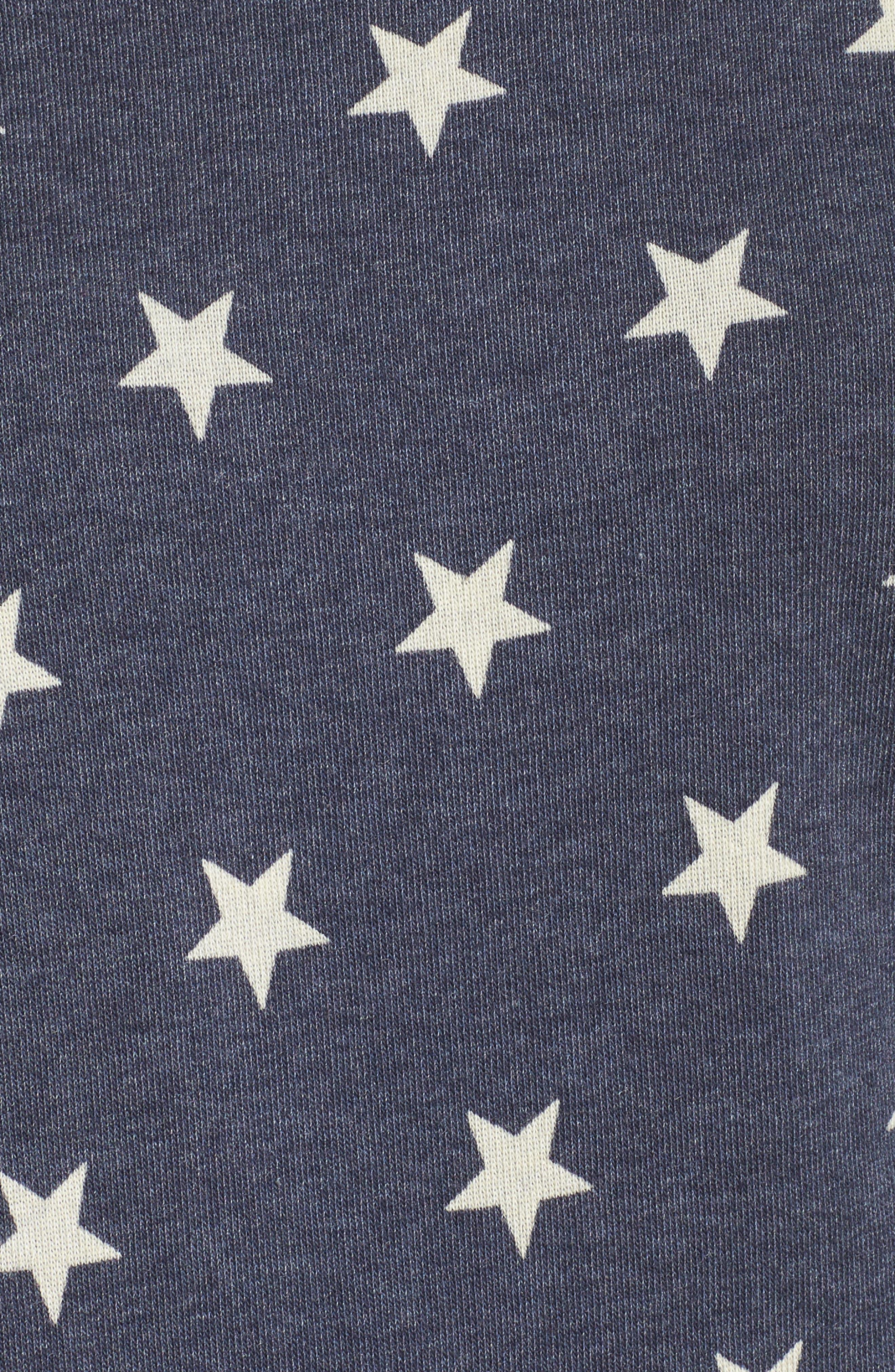 Maniac Camo Fleece Sweatshirt,                             Alternate thumbnail 5, color,                             Stars