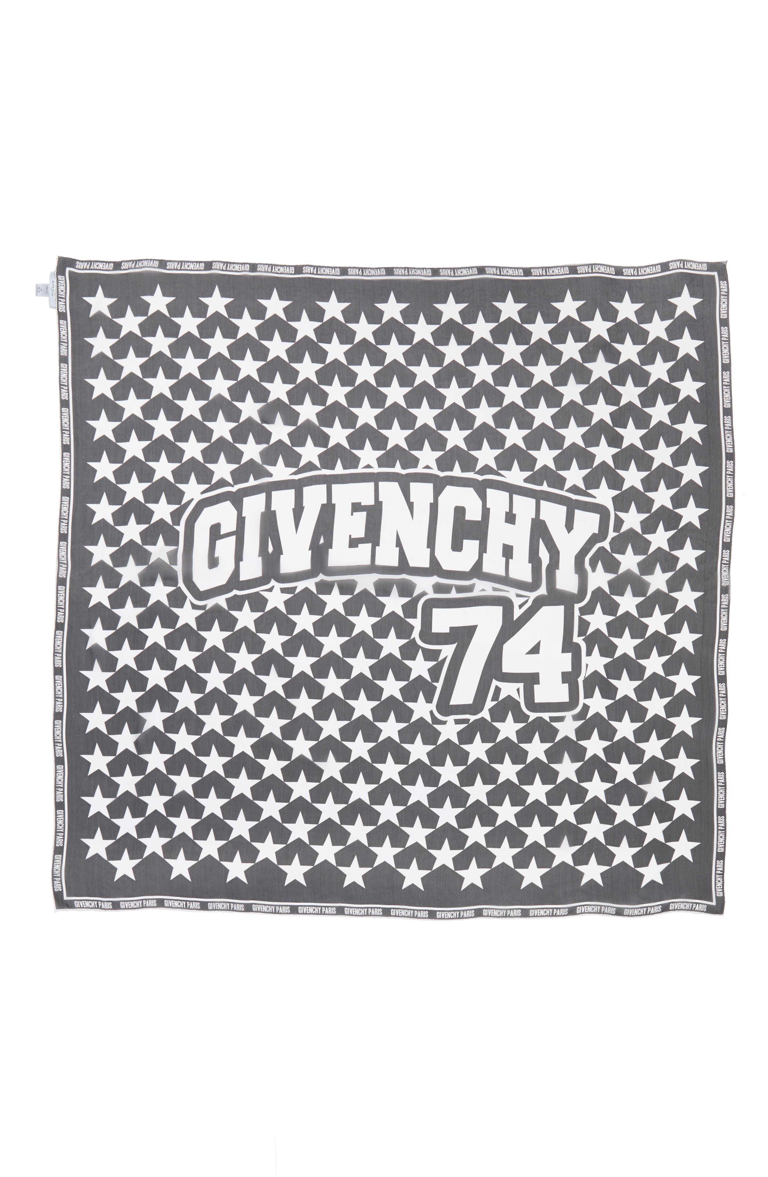 Main Image - Givenchy 74 Square Silk Scarf