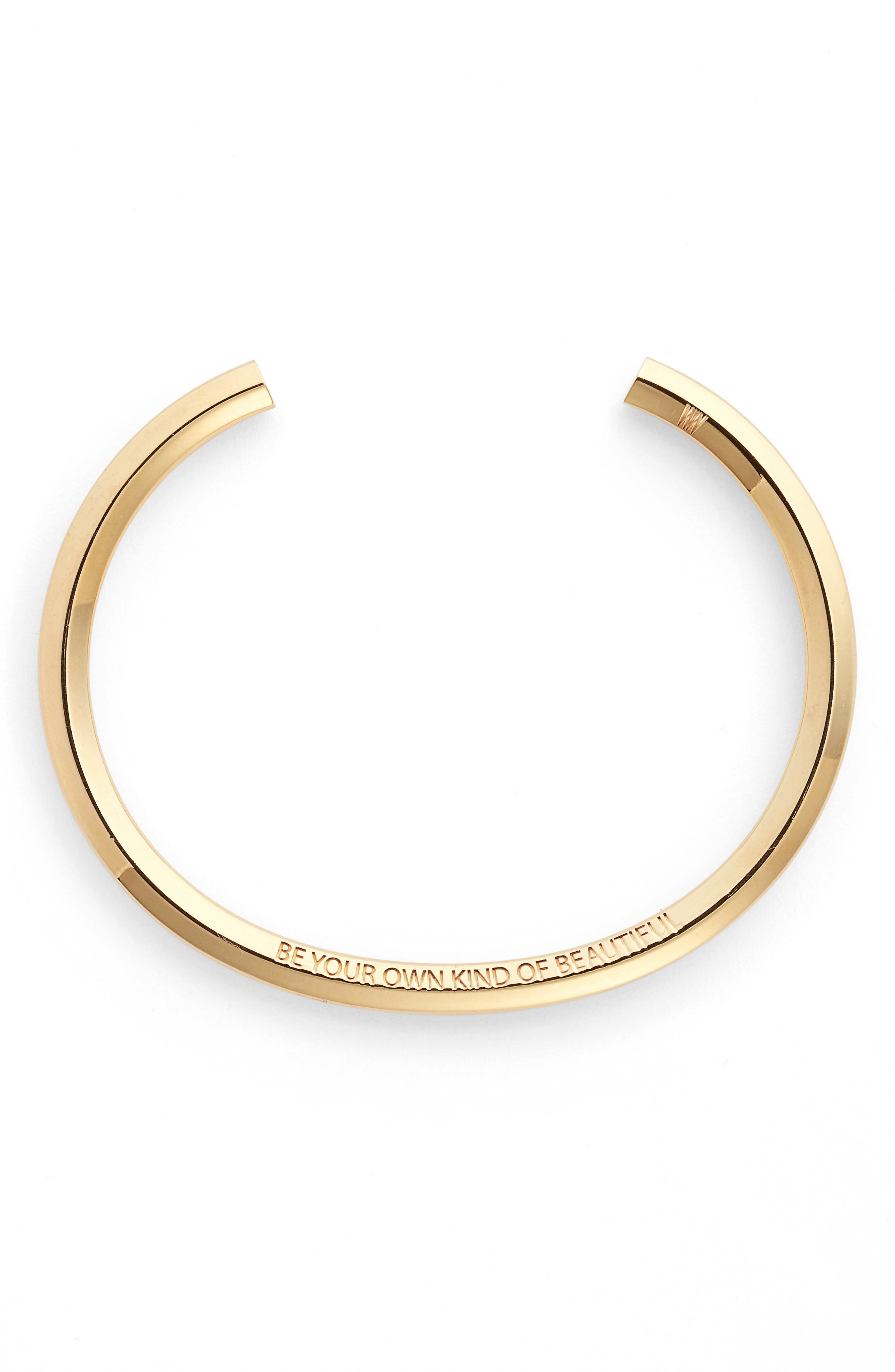 STELLA VALLE Be Your Own Kind of Beautiful Wrist Cuff