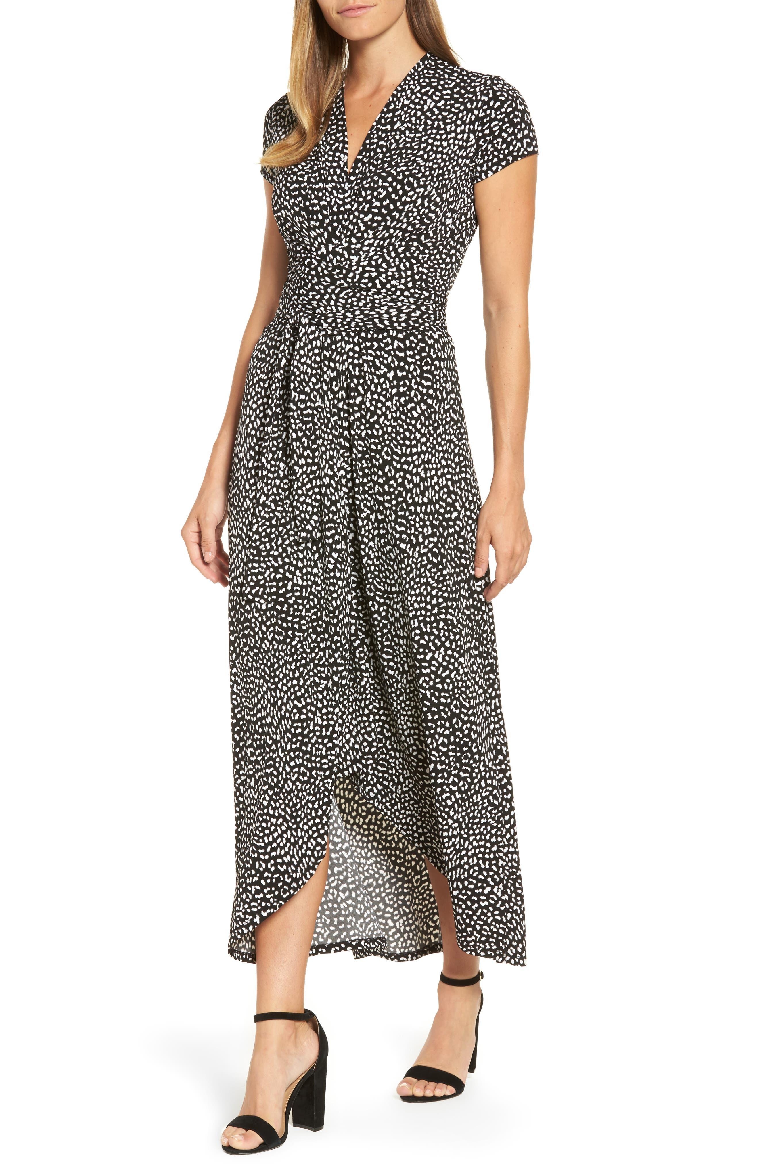 MICHAEL Michael Kors Cheetah Print Maxi Dress