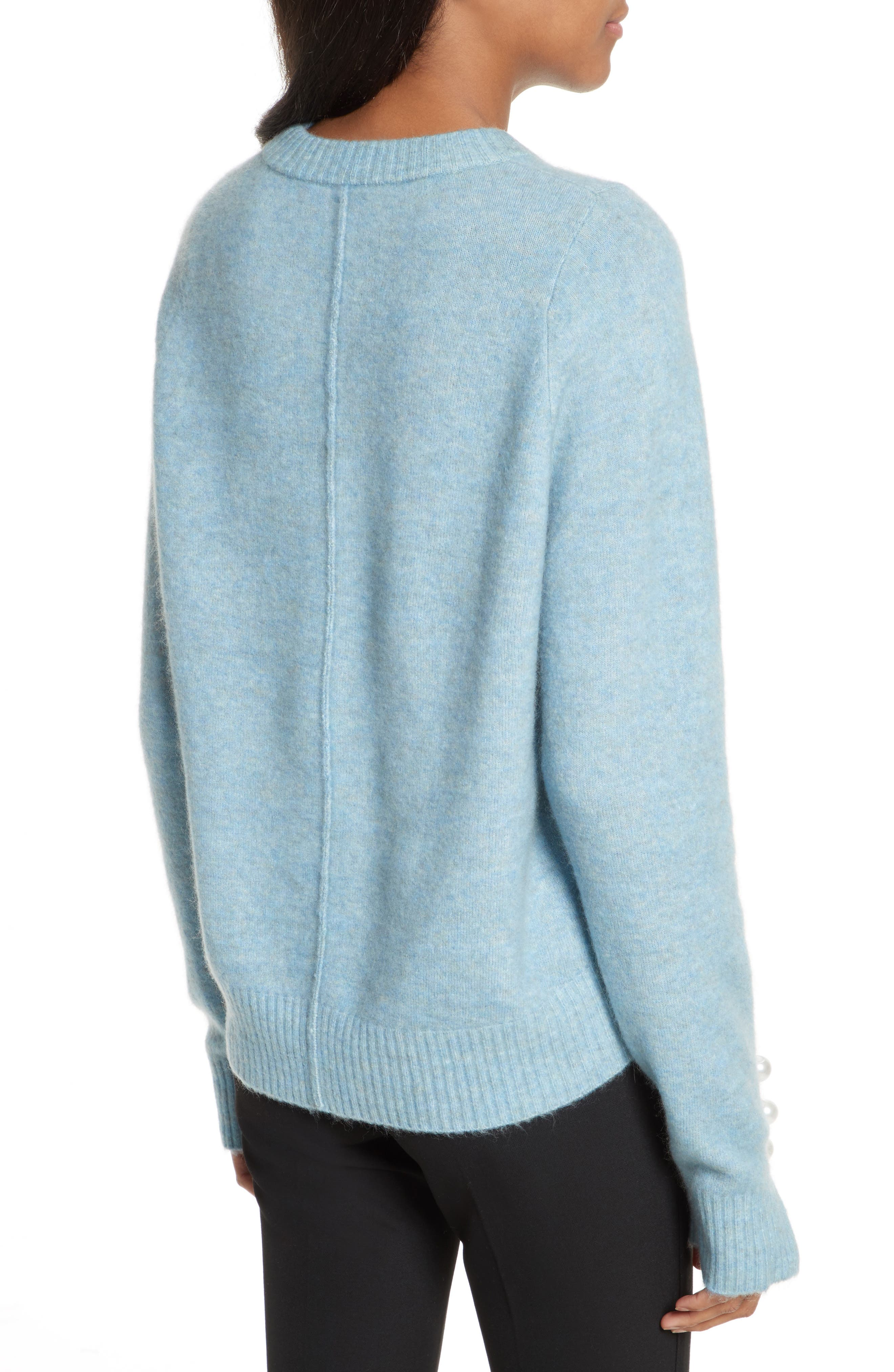 Alternate Image 2  - 3.1 Phillip Lim Faux Pearl Cuff Knit Pullover