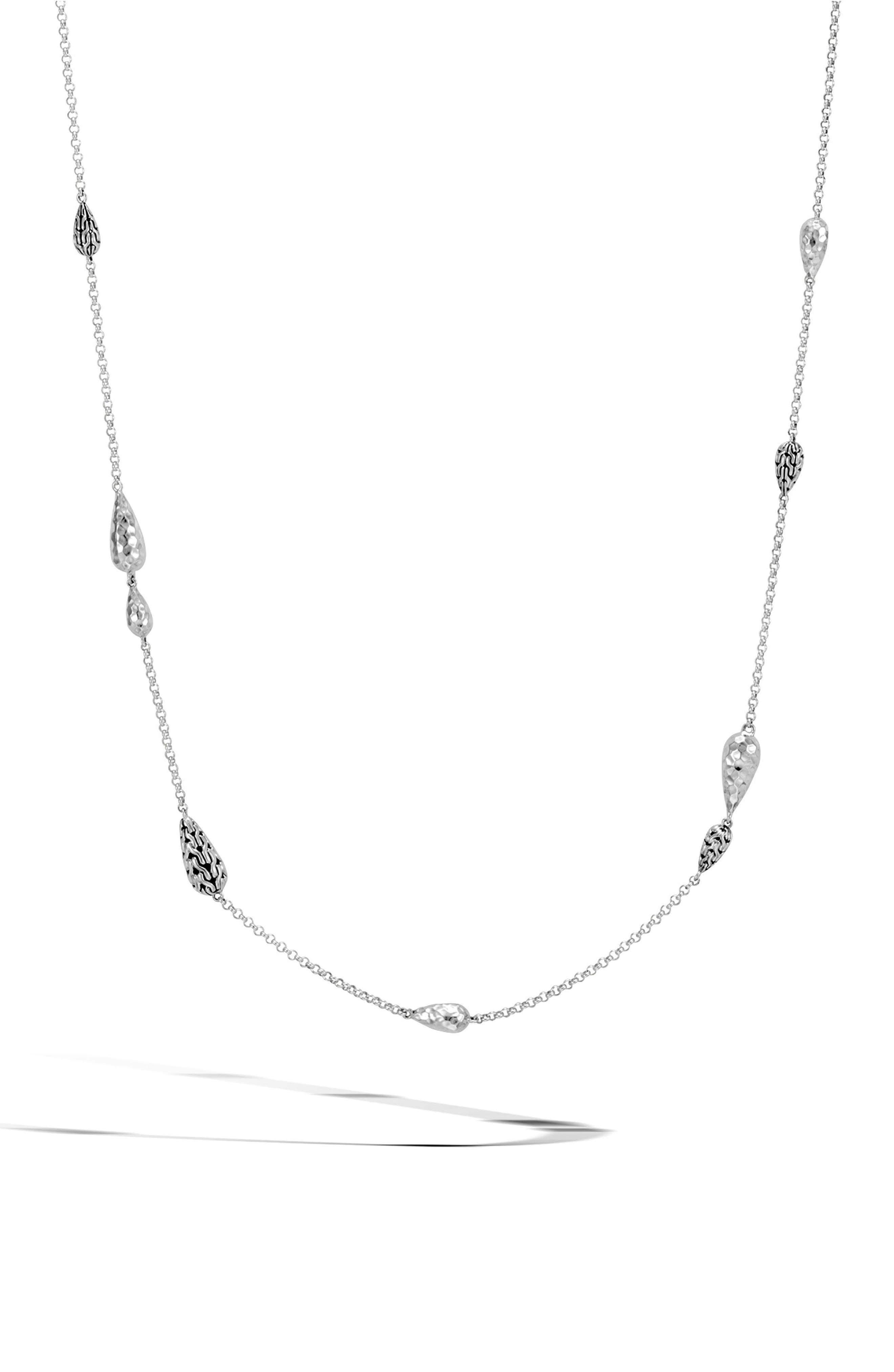 John Hardy Classic Chain Station Necklace