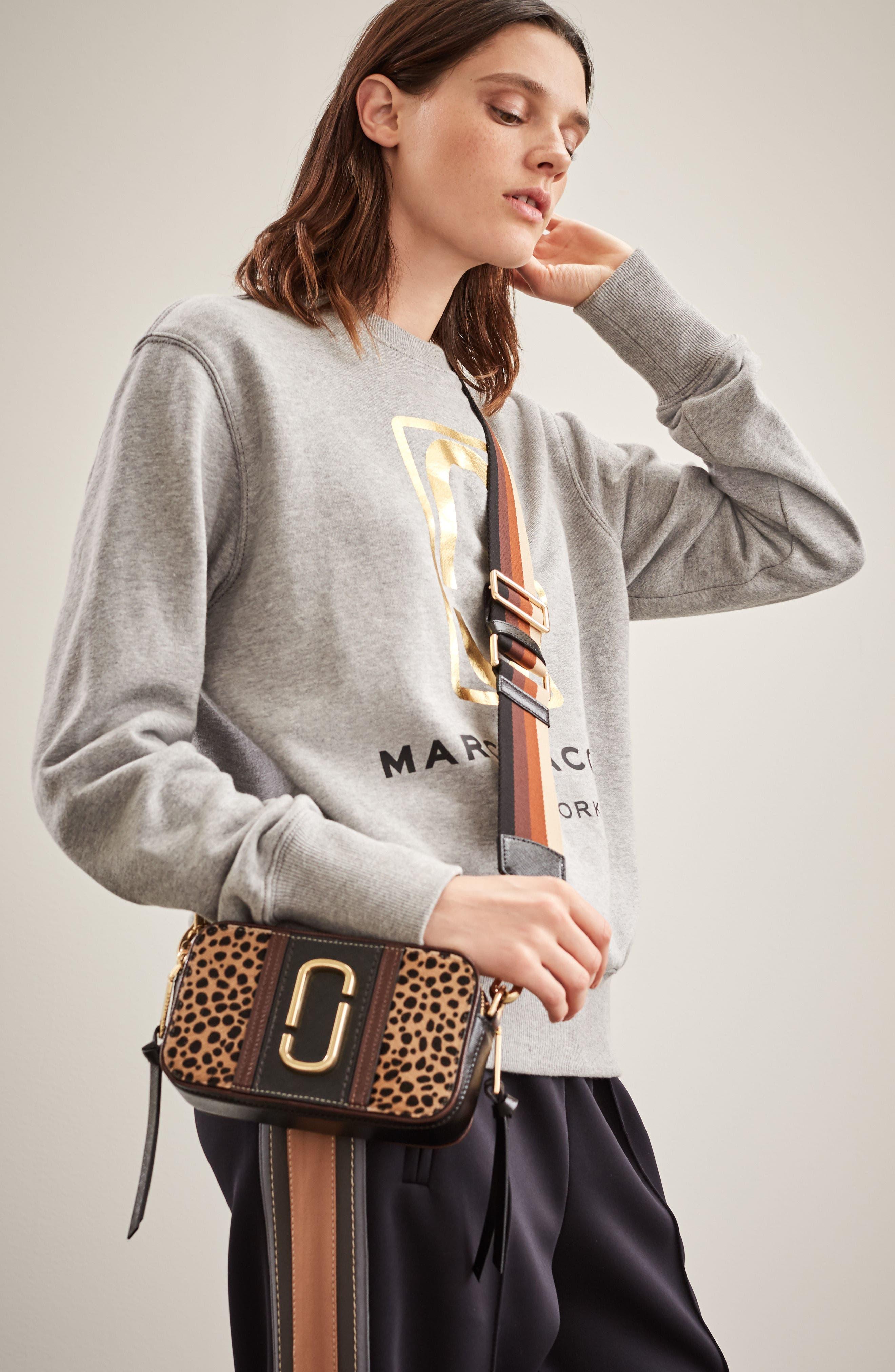 Alternate Image 7  - MARC JACOBS Snapshot Leopard Crossbody Bag
