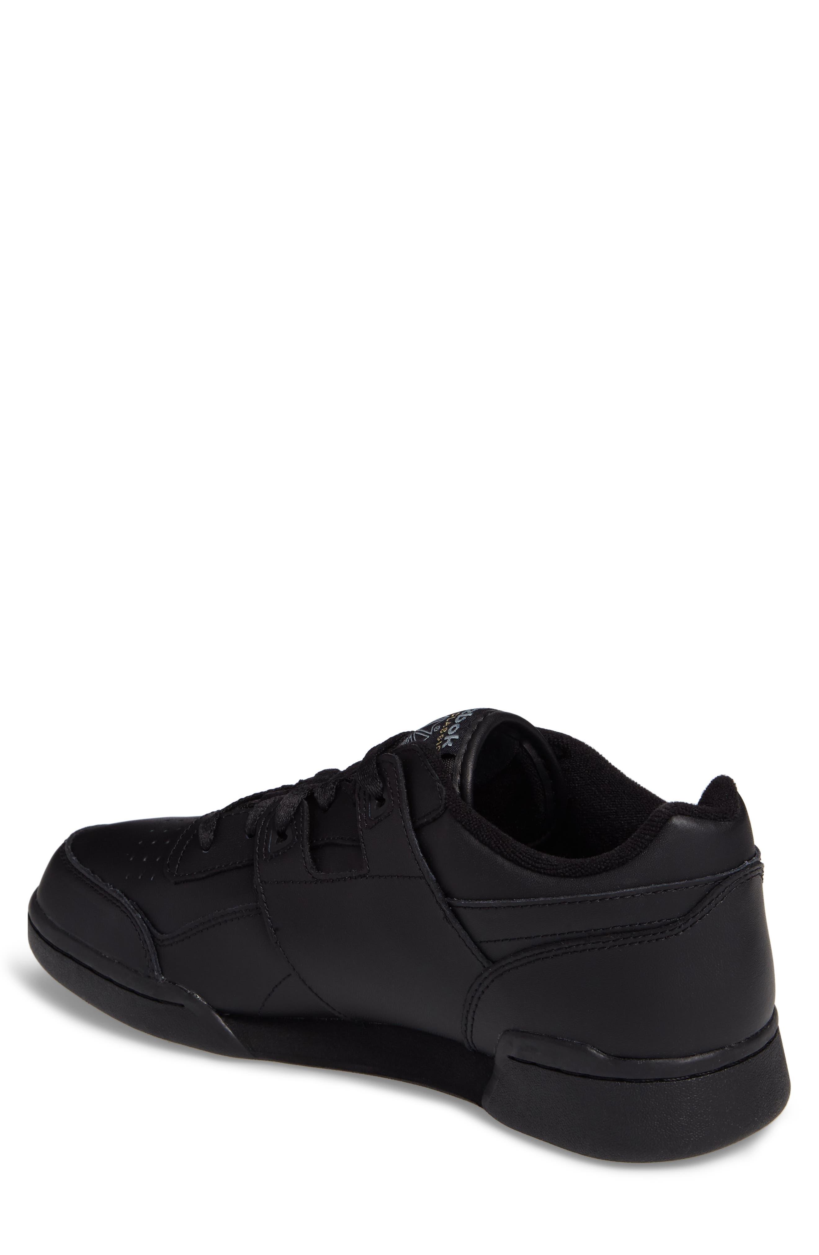Workout Plus Sneaker,                             Alternate thumbnail 2, color,                             Black/ Charcoal