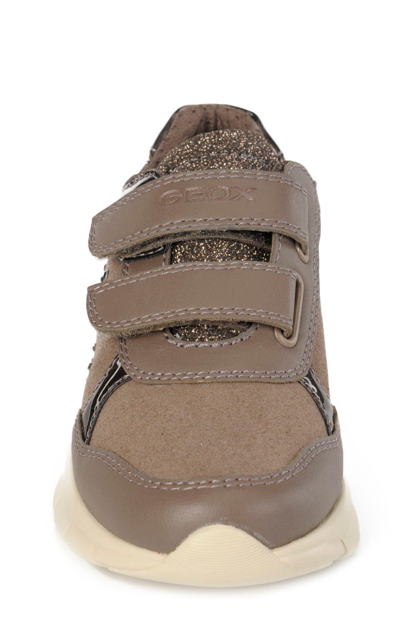 Alternate Image 4  - Geox Sukie Sneaker (Toddler, Little Kid & Big Kid)