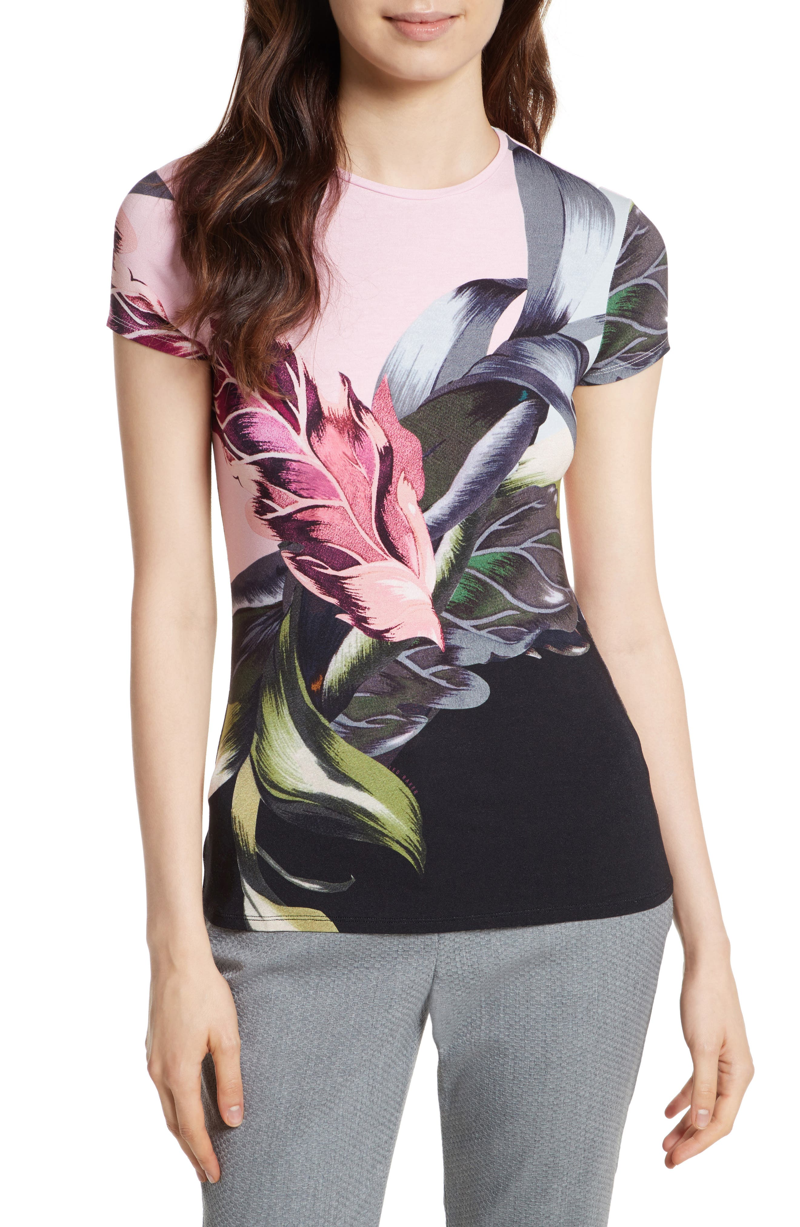 Ted Baker London Judia Eden Fitted Tee