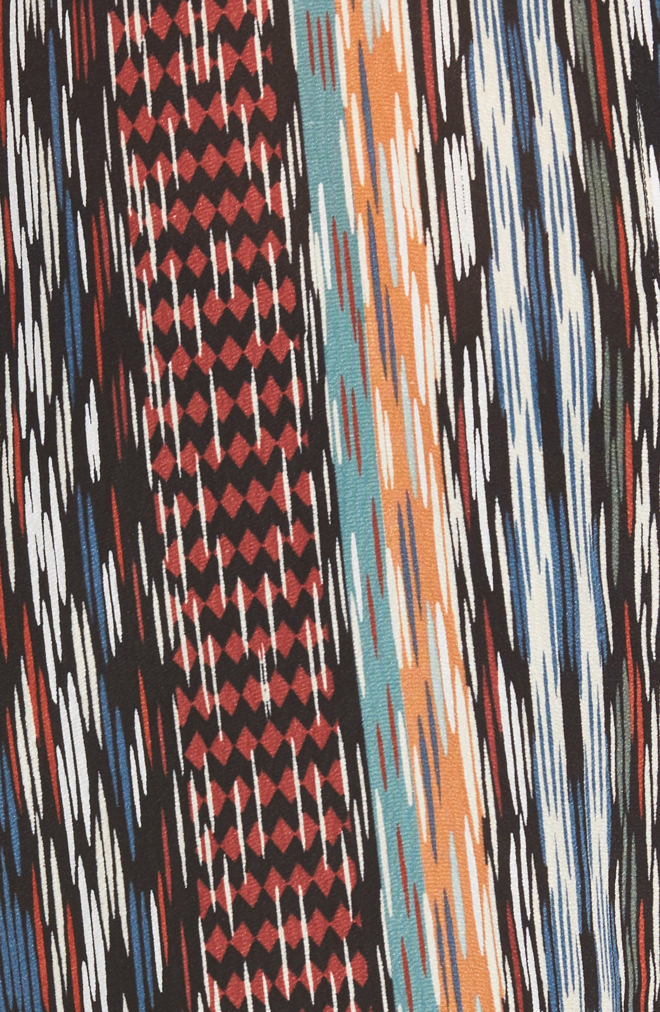 Alternate Image 5  - NIC+ZOE Color Streaks Silk Blend Tunic (Regular & Petite)