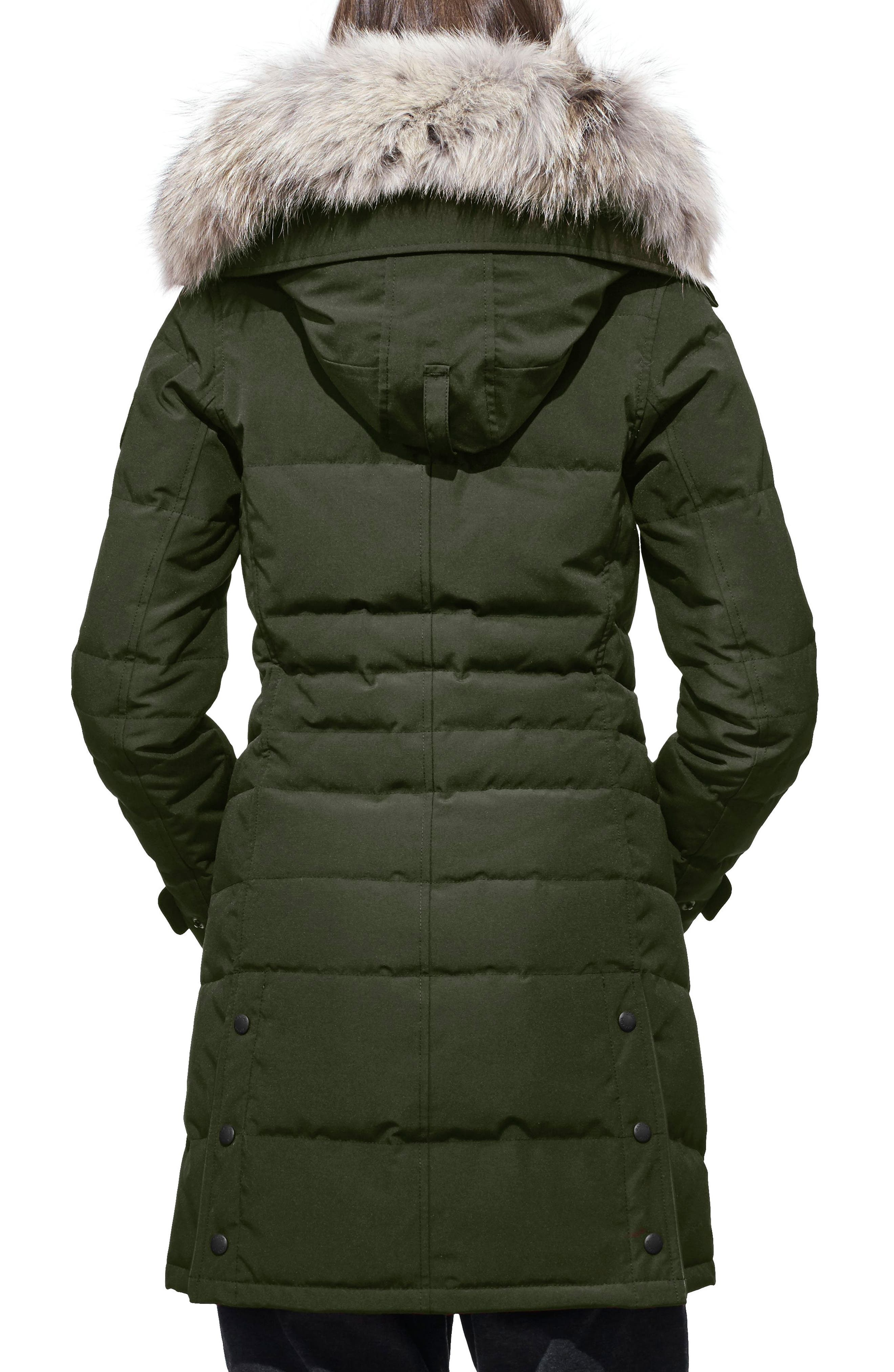 Alternate Image 2  - Canada Goose 'Lorette' Hooded Down Parka with Genuine Coyote Fur Trim