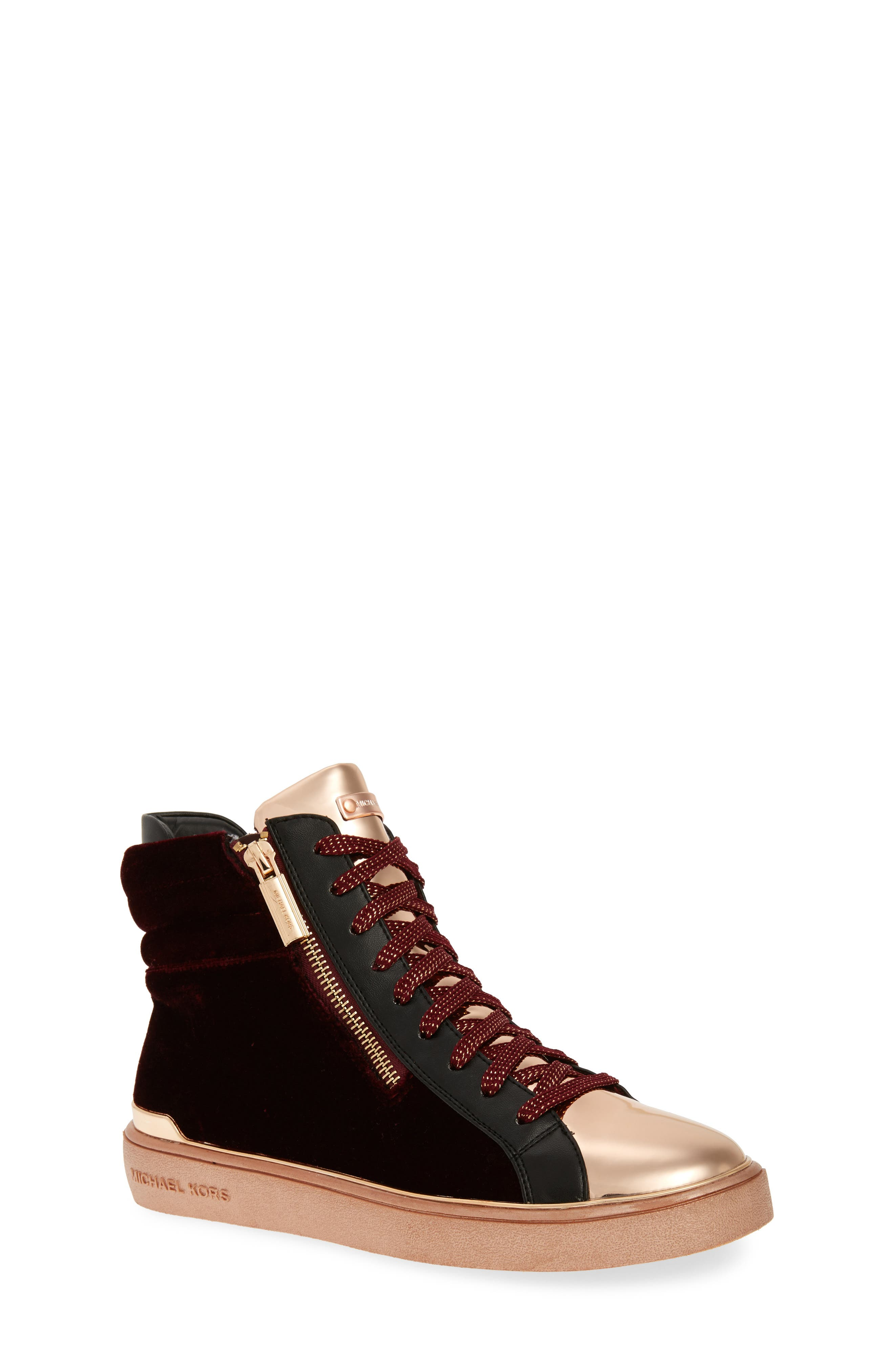 MICHAEL MICHAEL KORS Ivy Blue High Top Sneaker