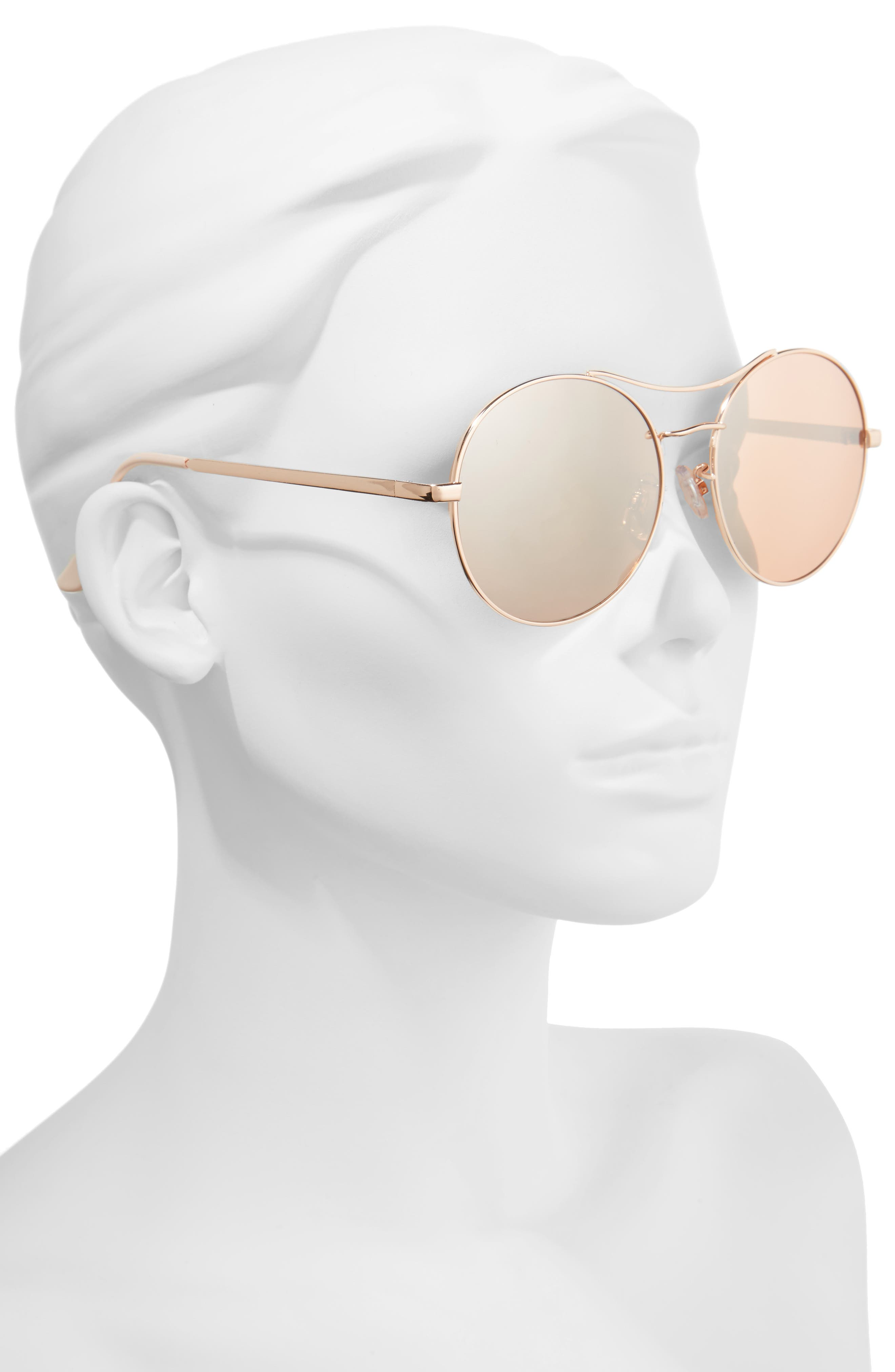 Alternate Image 2  - BP. 58mm Oversize Round Sunglasses