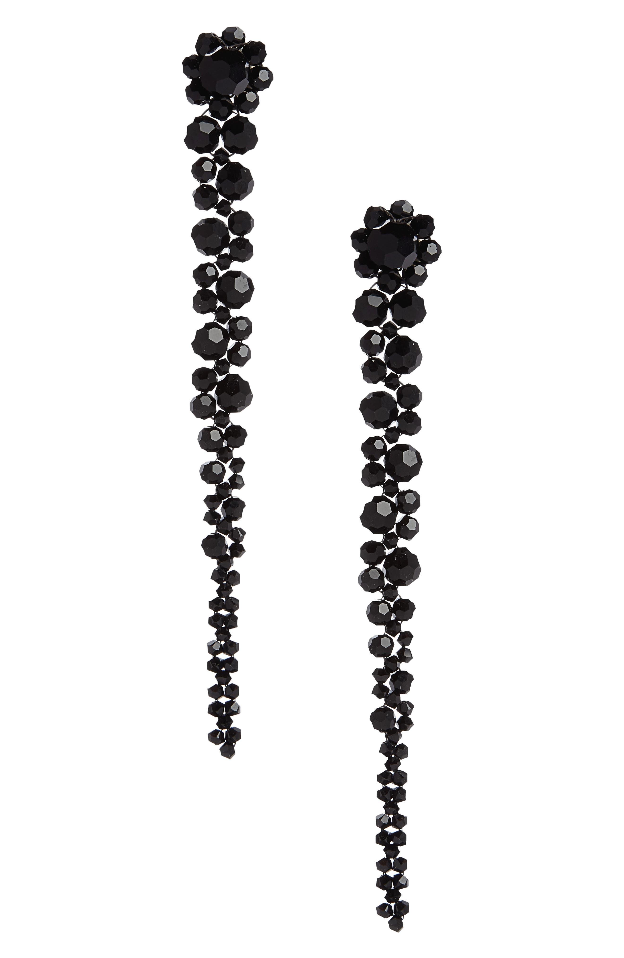 Simone Rocha Beaded Drop Earrings
