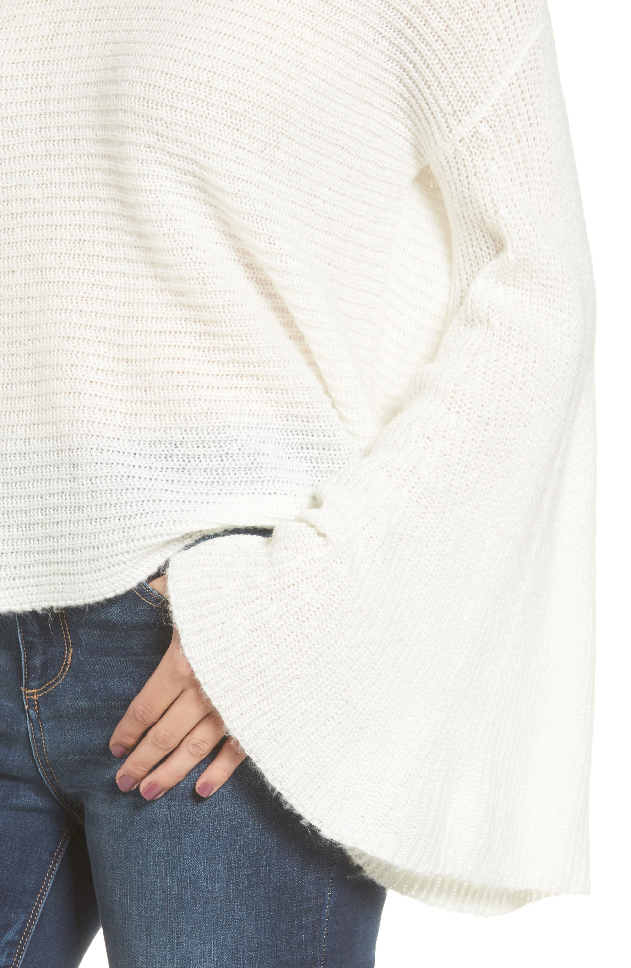 Alternate Image 5  - BP. Flare Sleeve Sweater