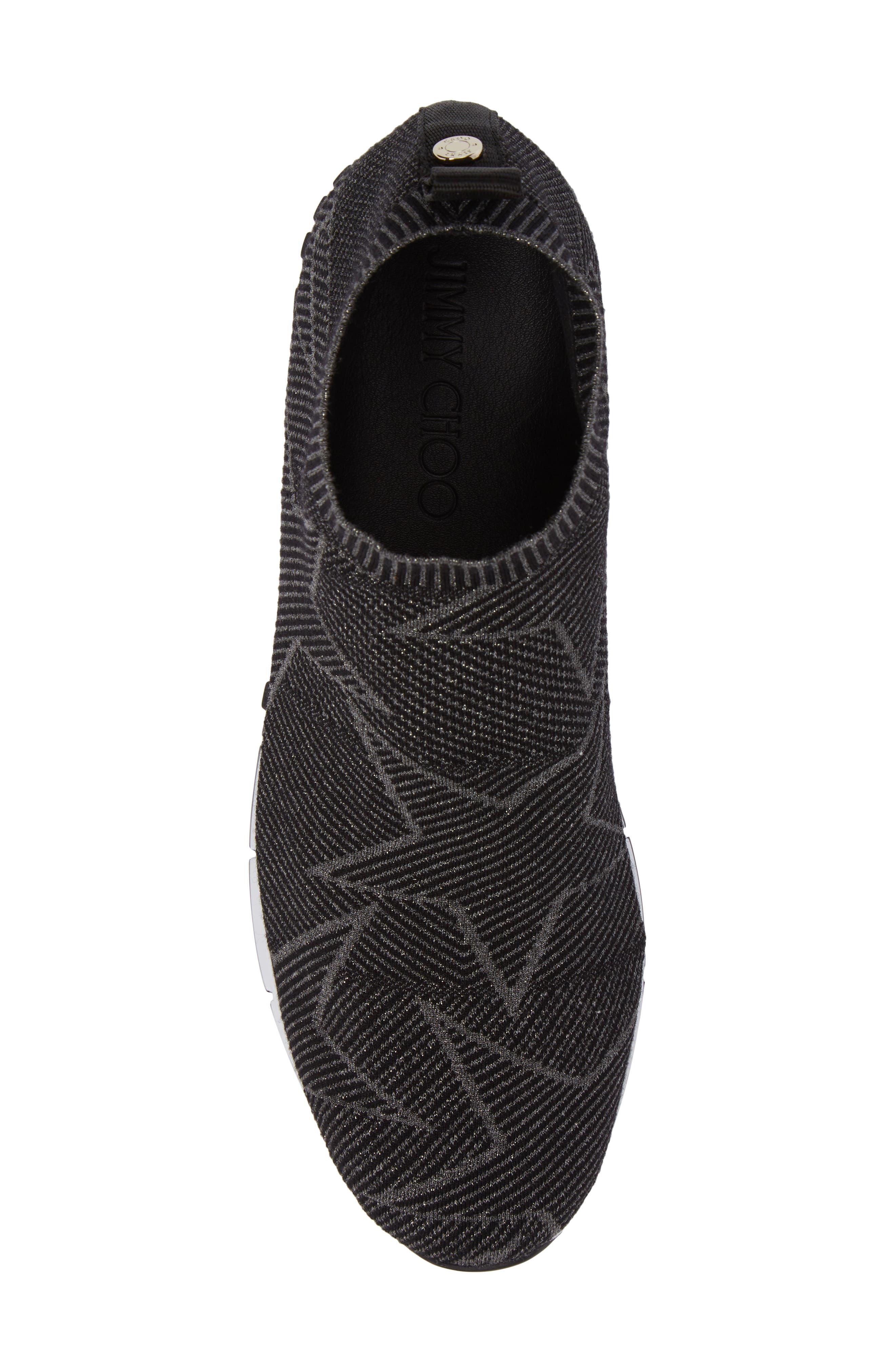 Alternate Image 5  - Jimmy Choo Norway High Top Sock Sneaker (Men)
