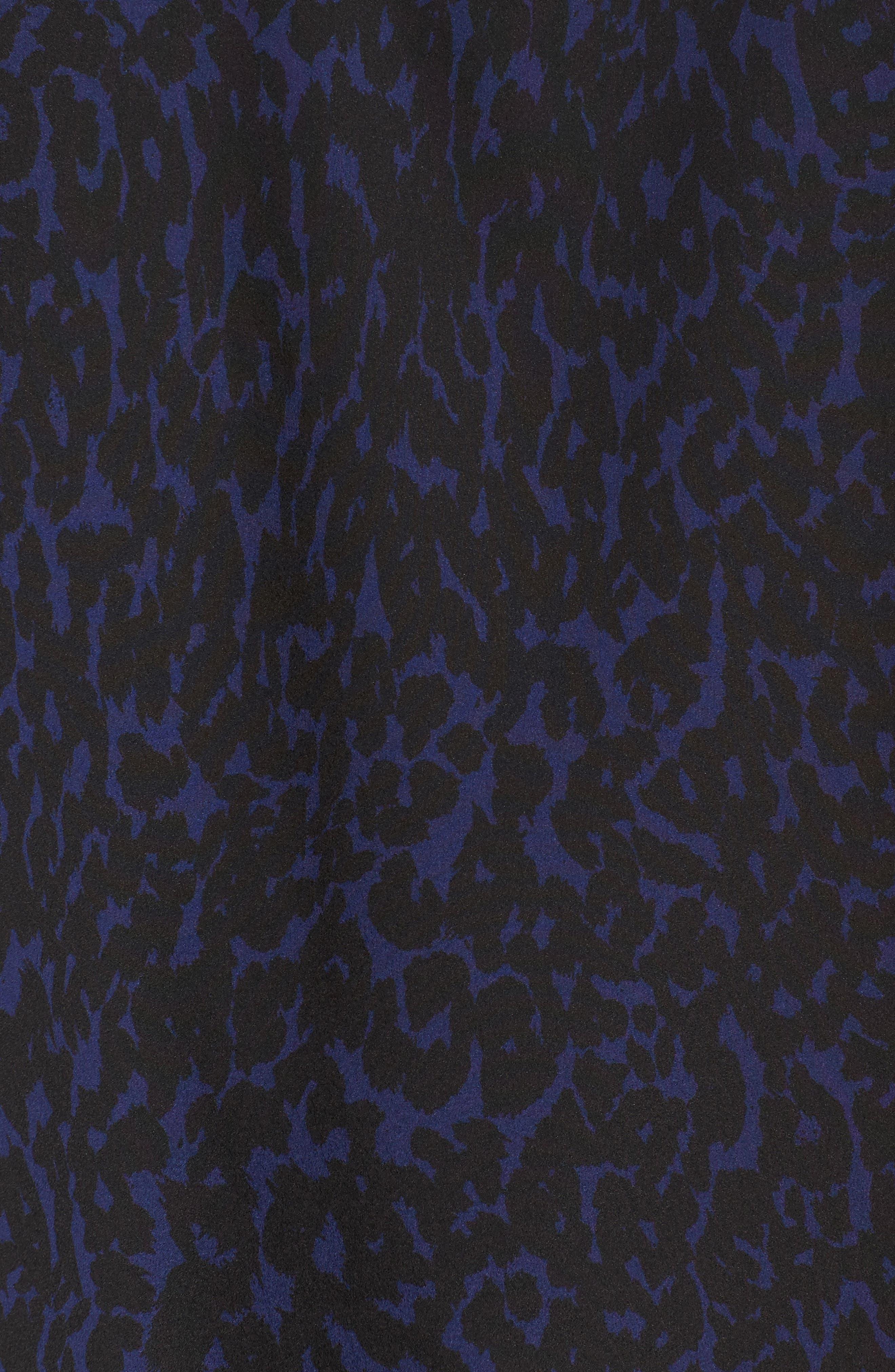 Alternate Image 5  - REBEL WILSON X ANGELS Print Georgette Tee (Plus Size)