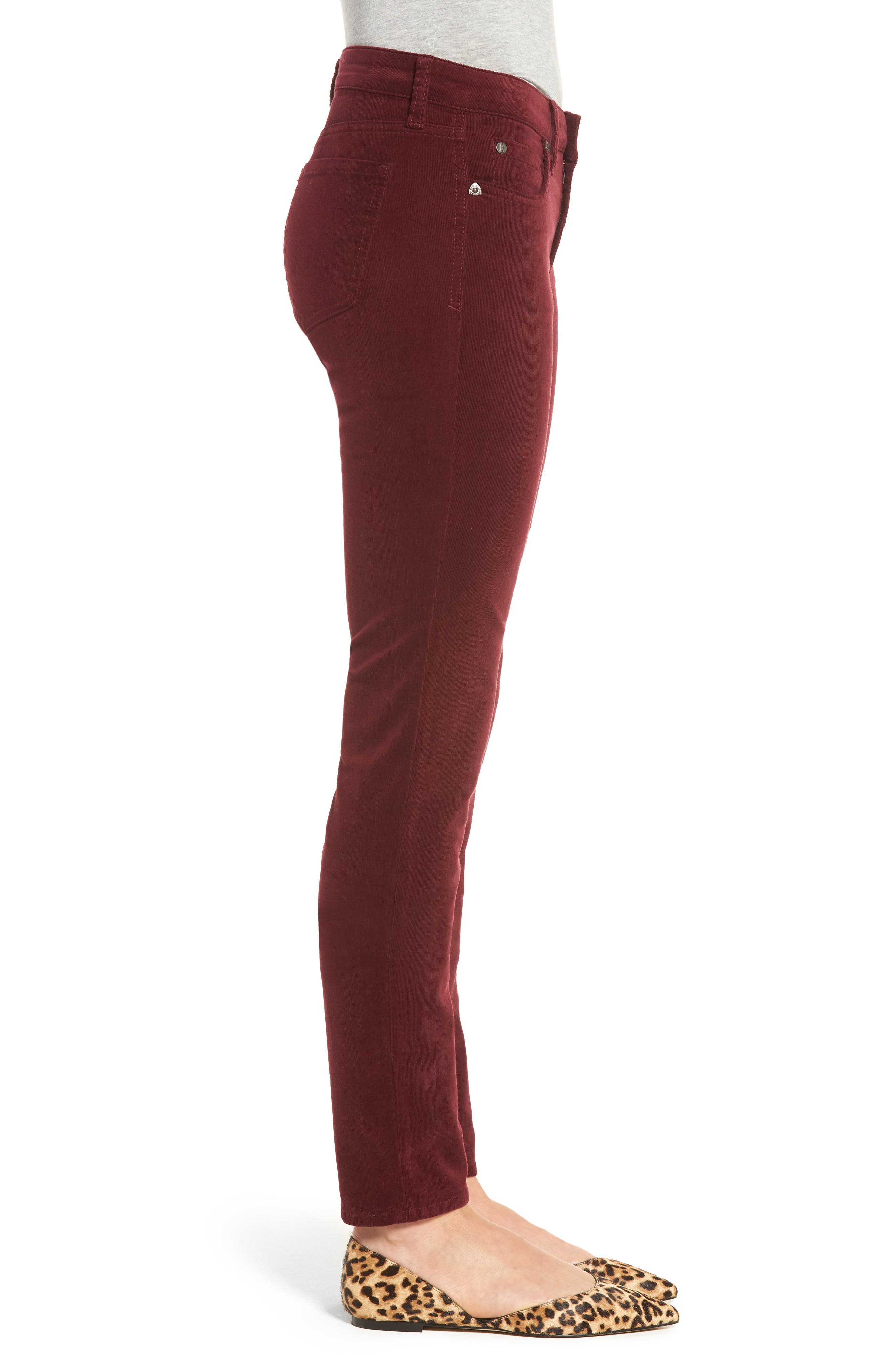 Alternate Image 3  - KUT from the Kloth Diana Stretch Corduroy Skinny Pants (Regular & Petite)