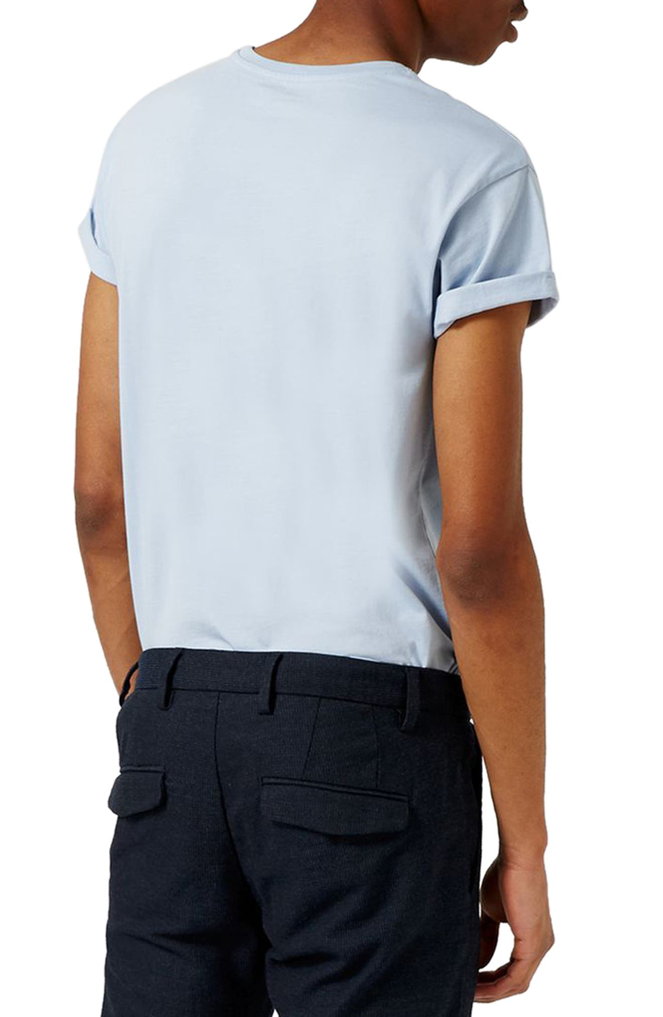 Alternate Image 2  - Topman Muscle Fit Roller T-Shirt