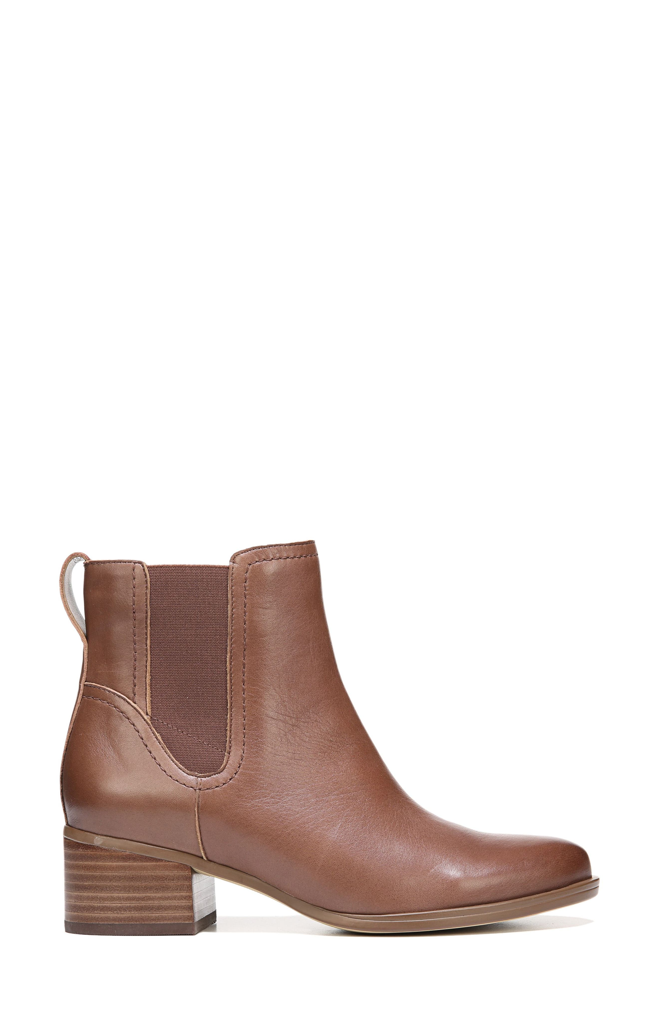 Dallas Chelsea Boot,                             Alternate thumbnail 3, color,                             Coffee Bean Leather