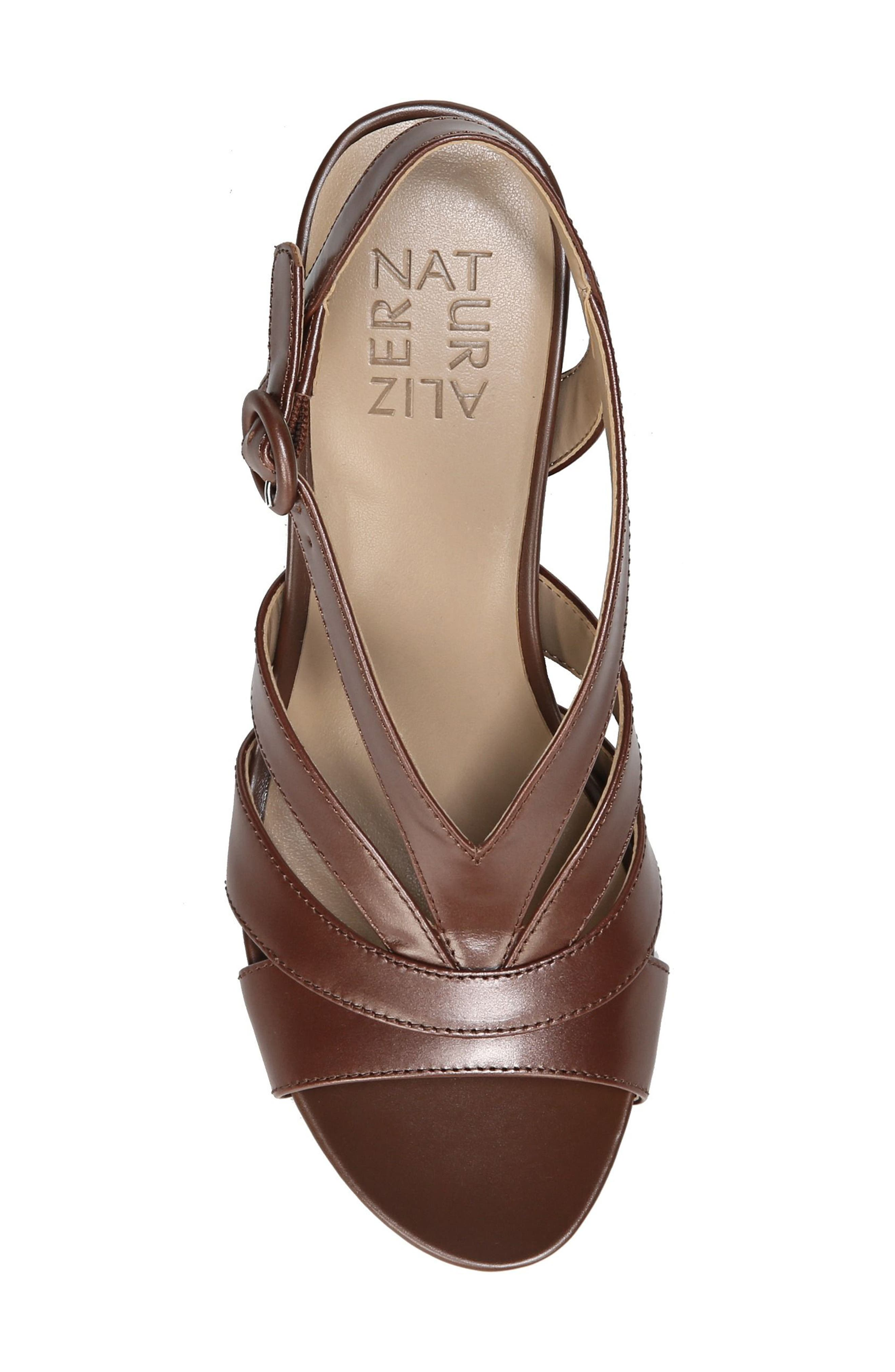 Alternate Image 5  - Naturalizer Brandy Wedge Sandal (Women)