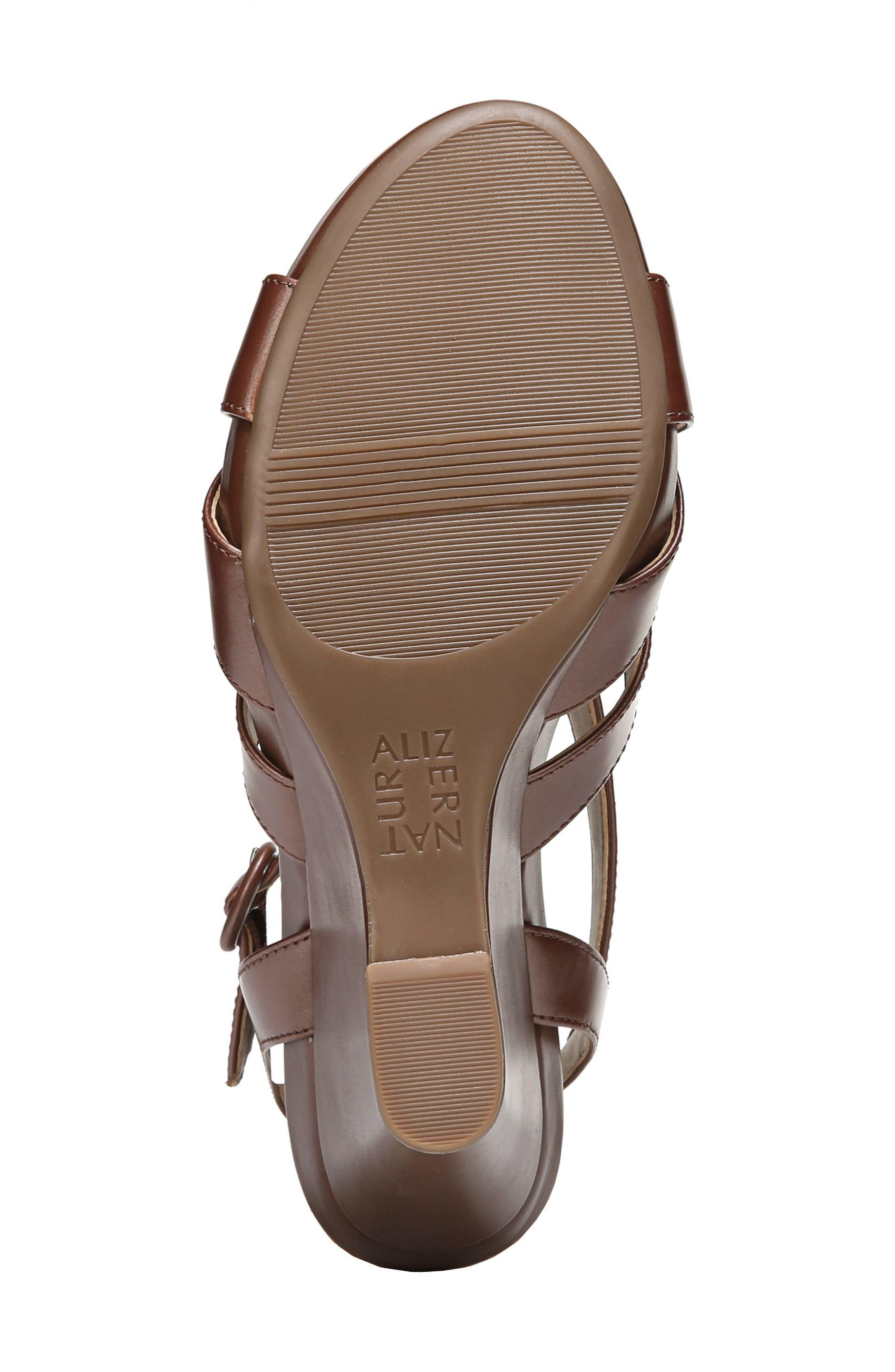 Alternate Image 6  - Naturalizer Brandy Wedge Sandal (Women)