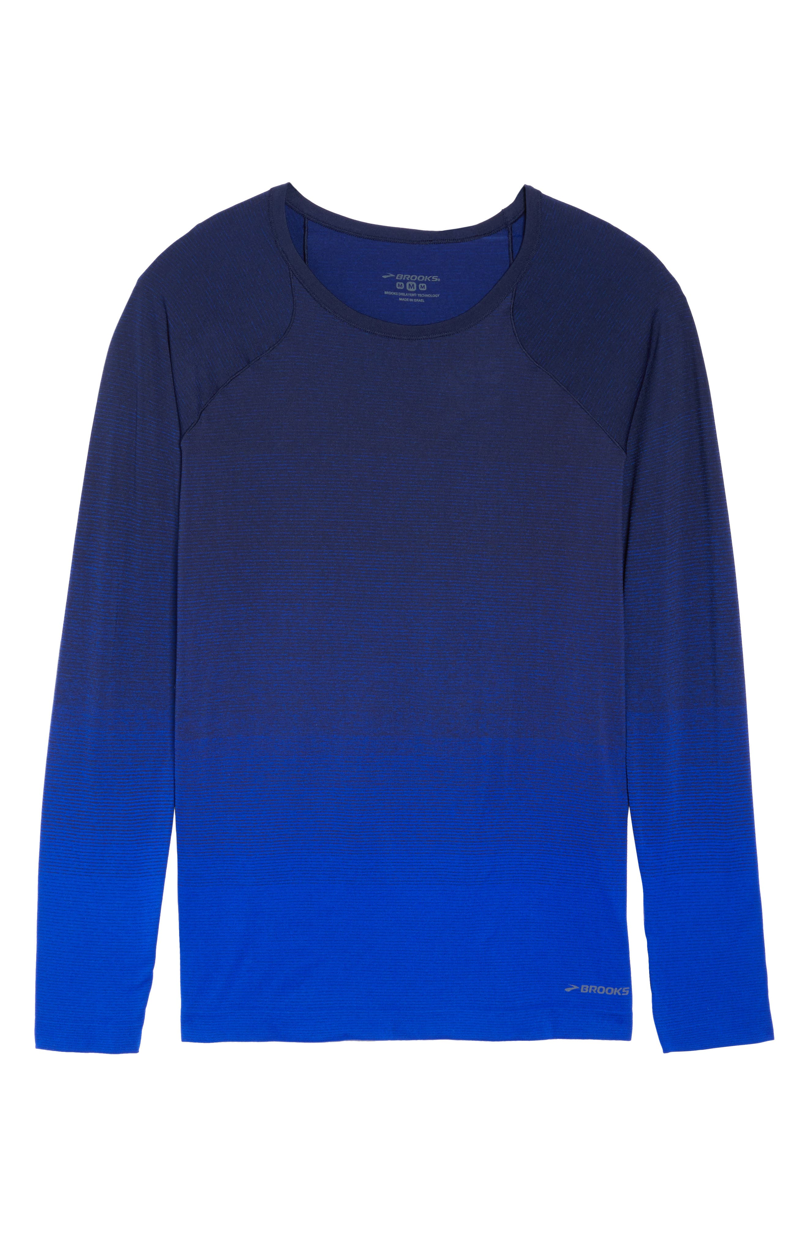 DriLayer Top,                             Alternate thumbnail 7, color,                             Navy/ Cobalt