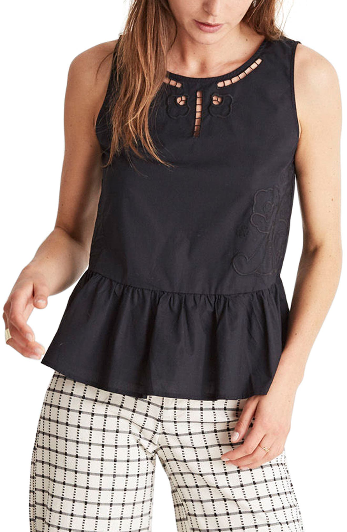 Alternate Image 1 Selected - Madewell Peplum Tank