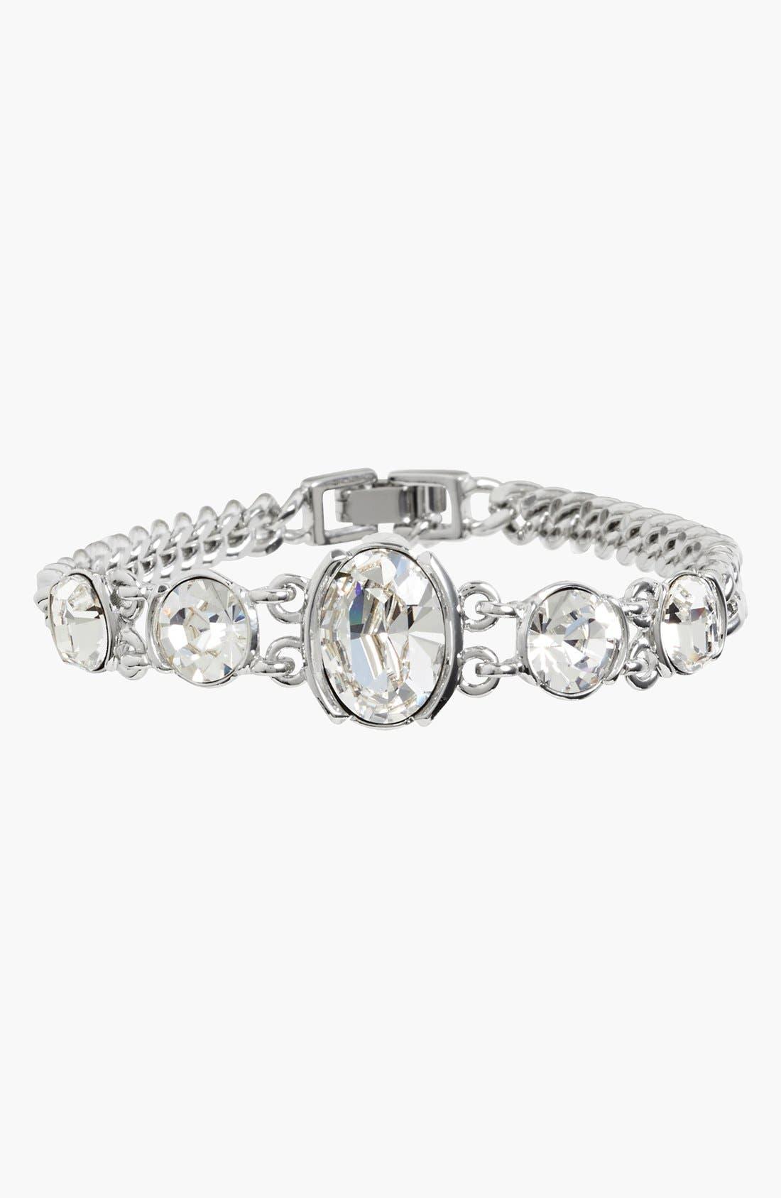 Alternate Image 1 Selected - Givenchy Crystal Curb Link Bracelet