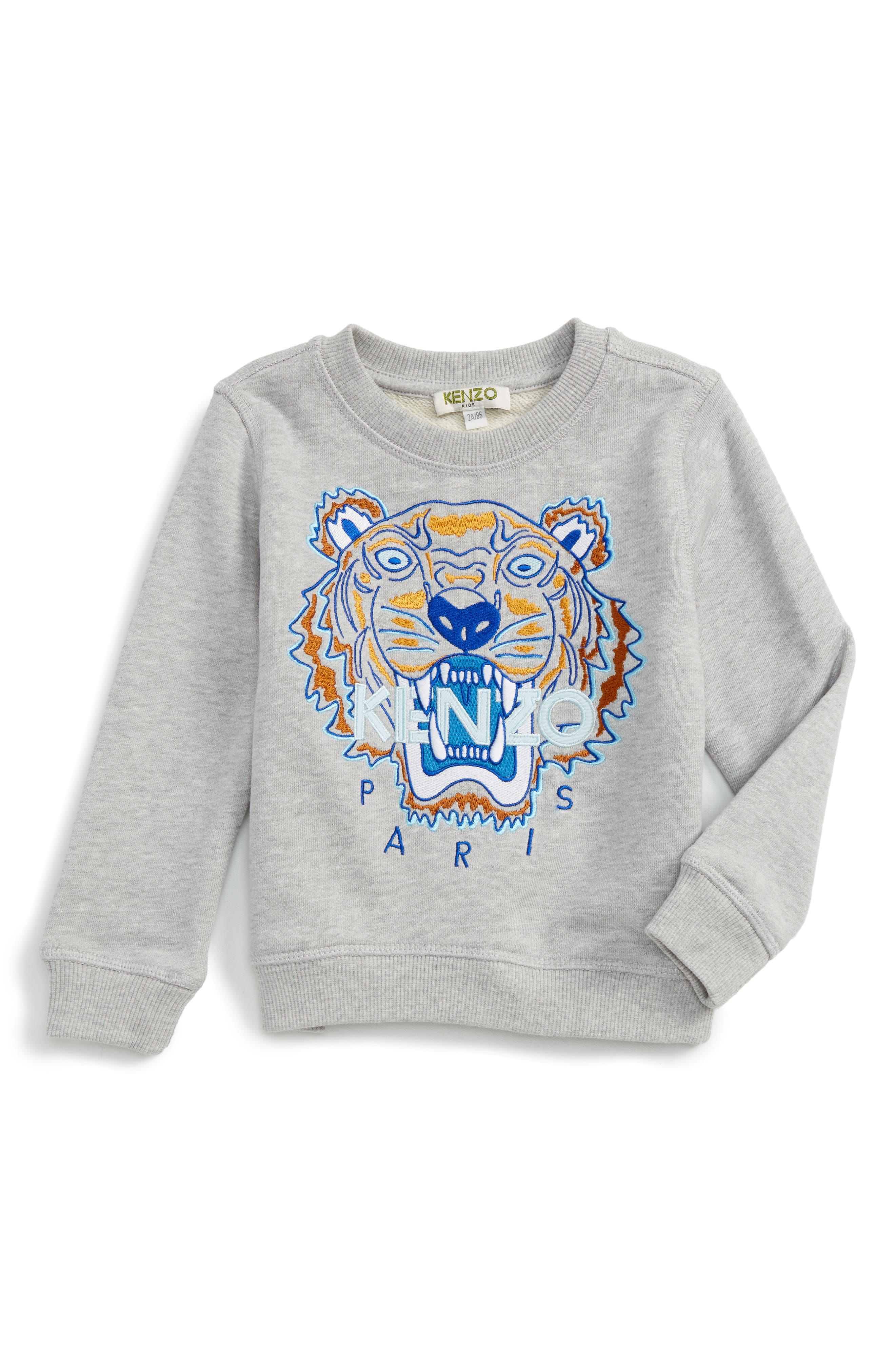 KENZO Tiger Sweatshirt (Toddler Boys, Little Boys & Big Boys)