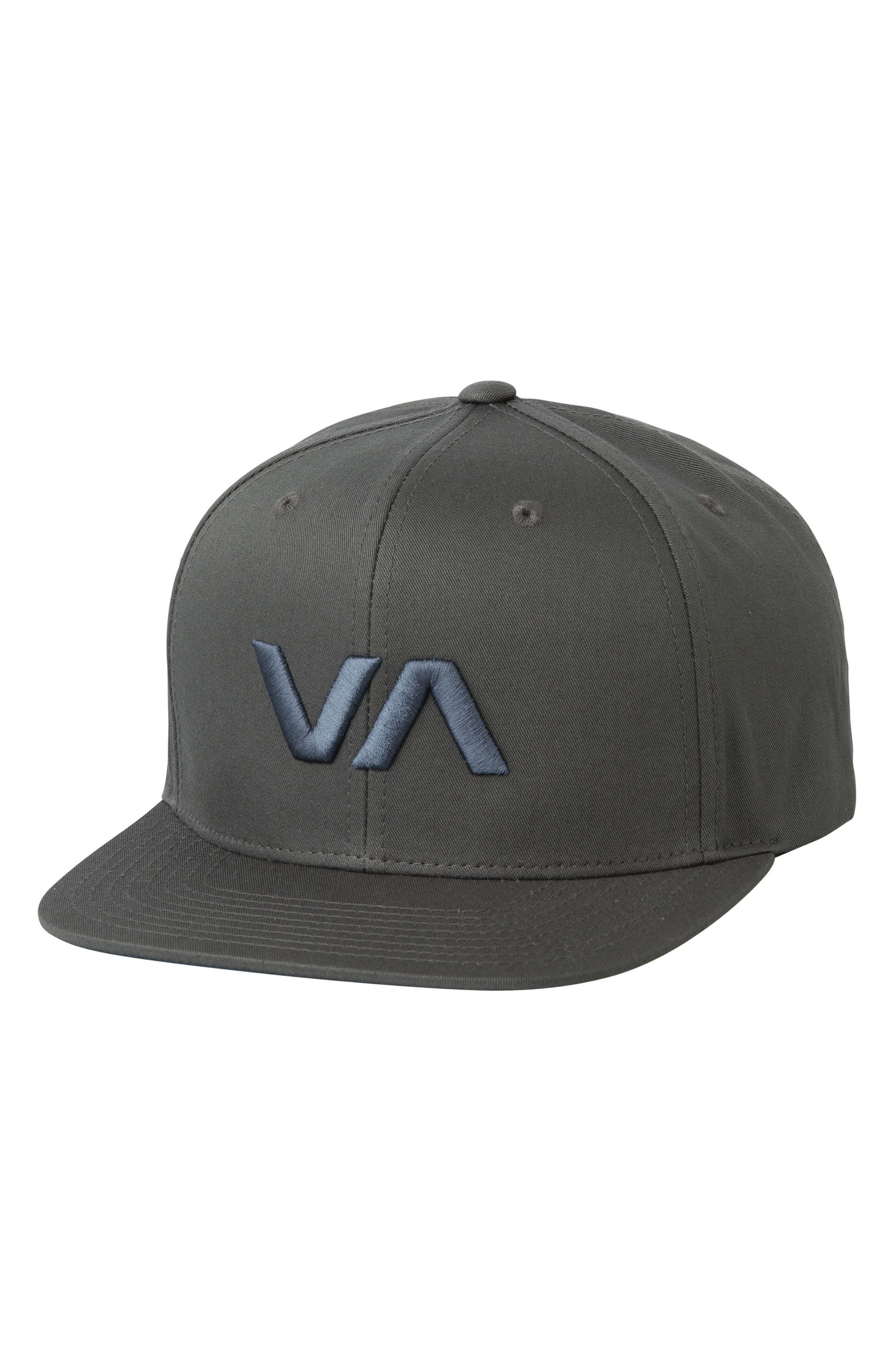 'VA' Snapback Hat,                             Main thumbnail 1, color,                             Grey Blue