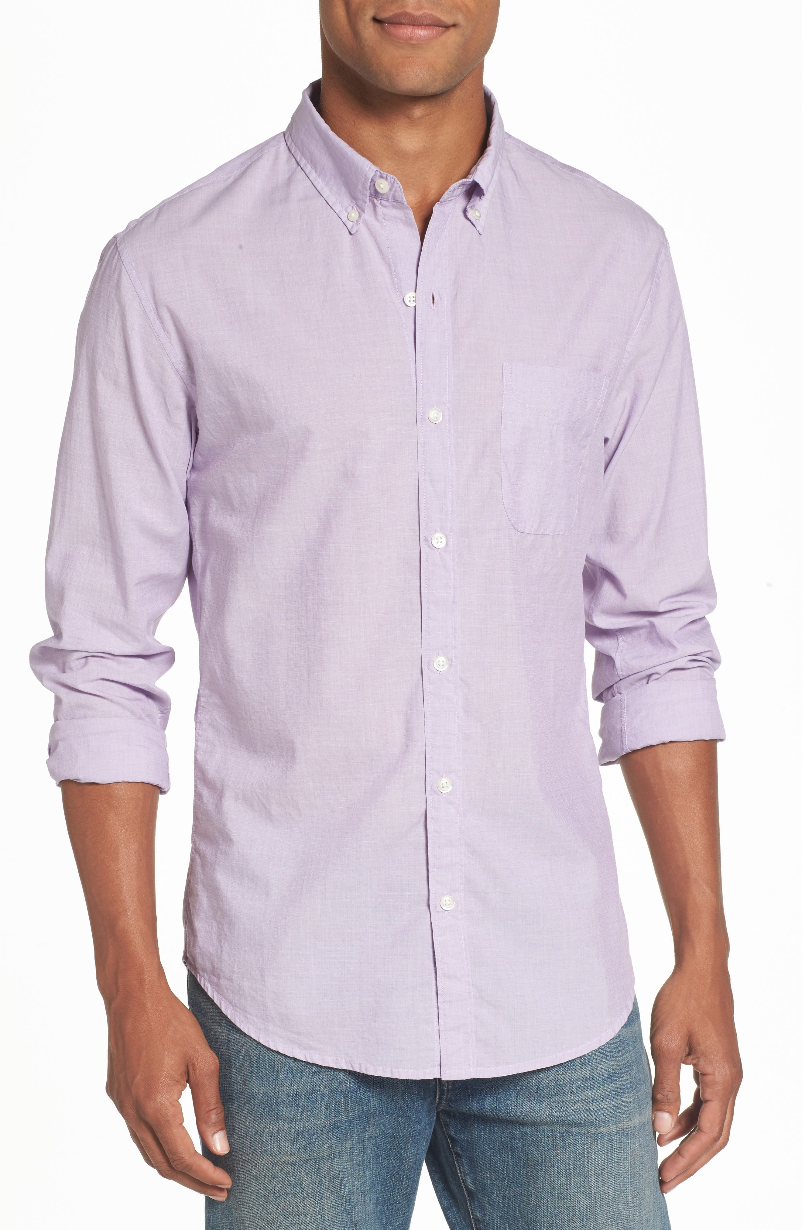 Alternate Image 1 Selected - Bonobos Slim Fit Summerweight Sport Shirt