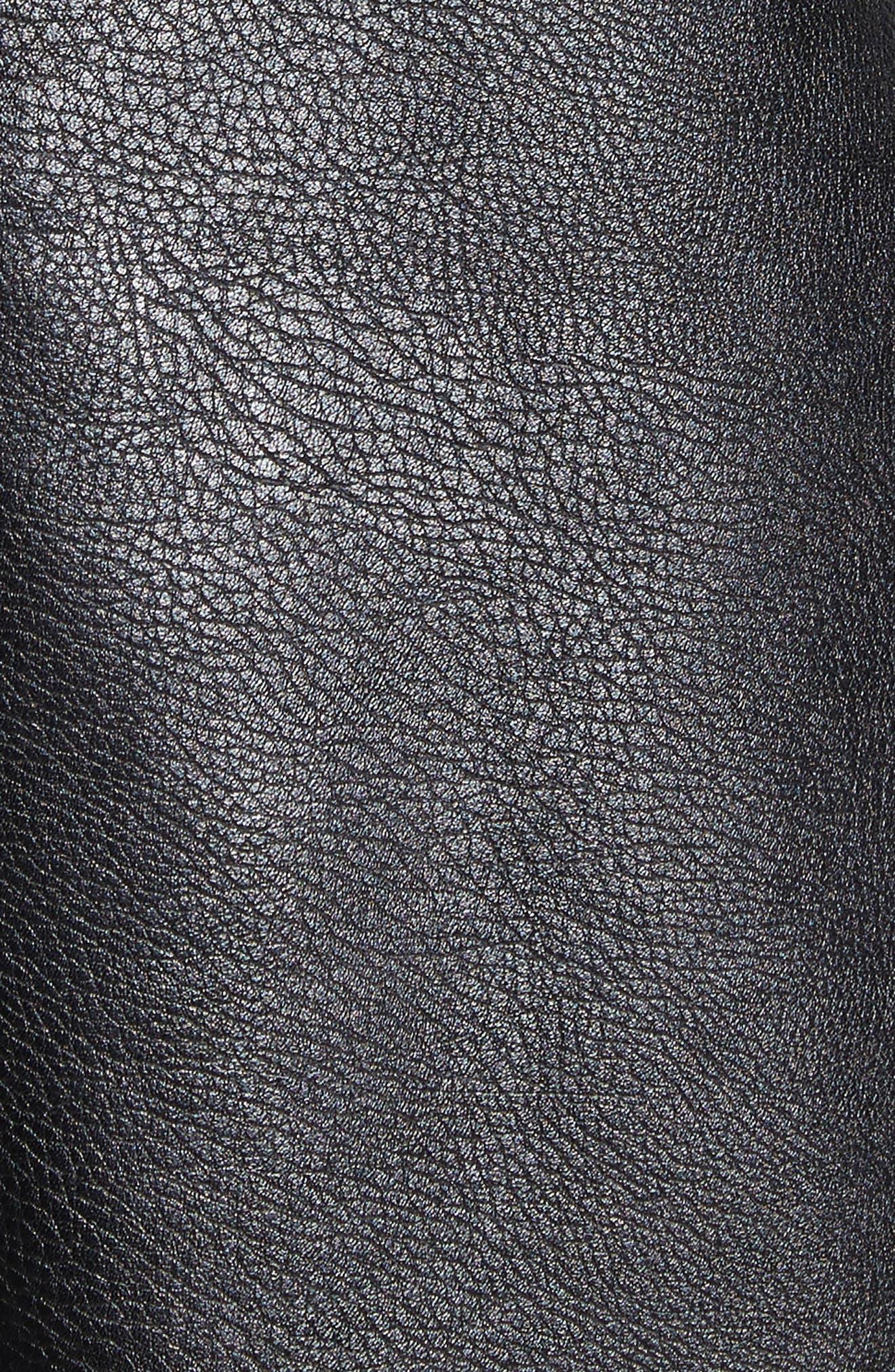 Alternate Image 5  - Stella McCartney Alter Leather & Stretch Cady Dress