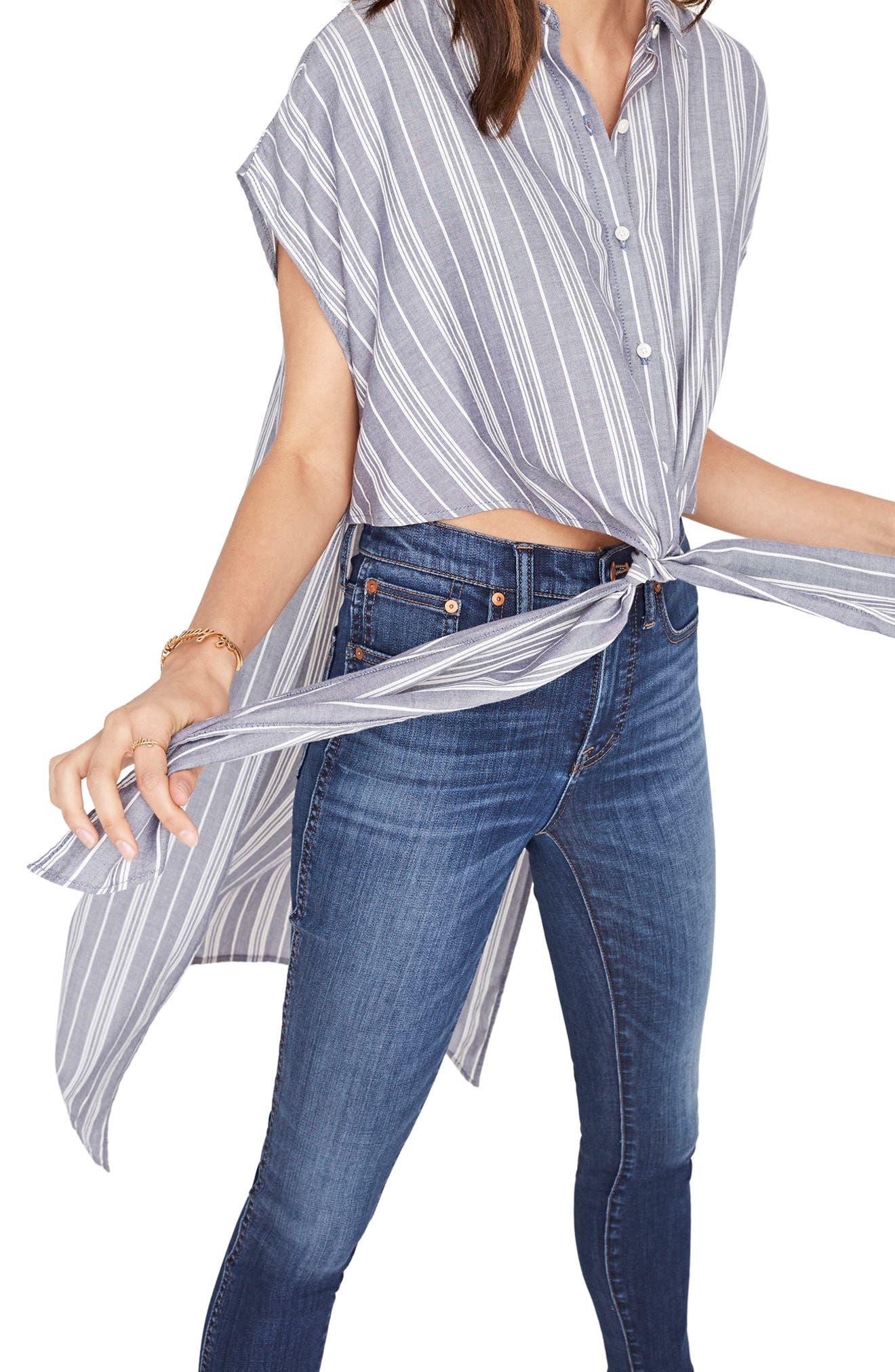 Alternate Image 3  - Madewell Side Slit Tunic Shirt