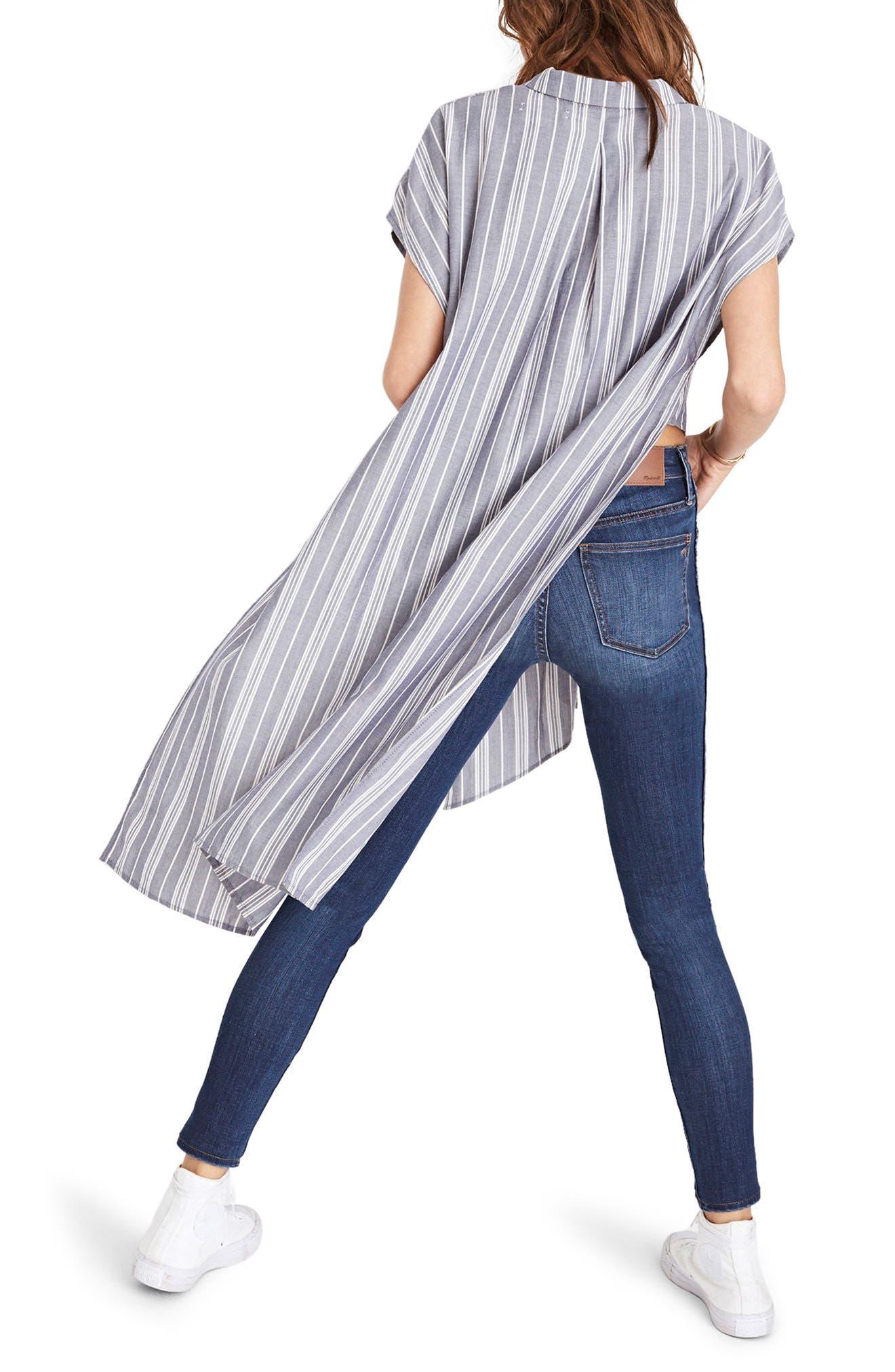 Alternate Image 2  - Madewell Side Slit Tunic Shirt
