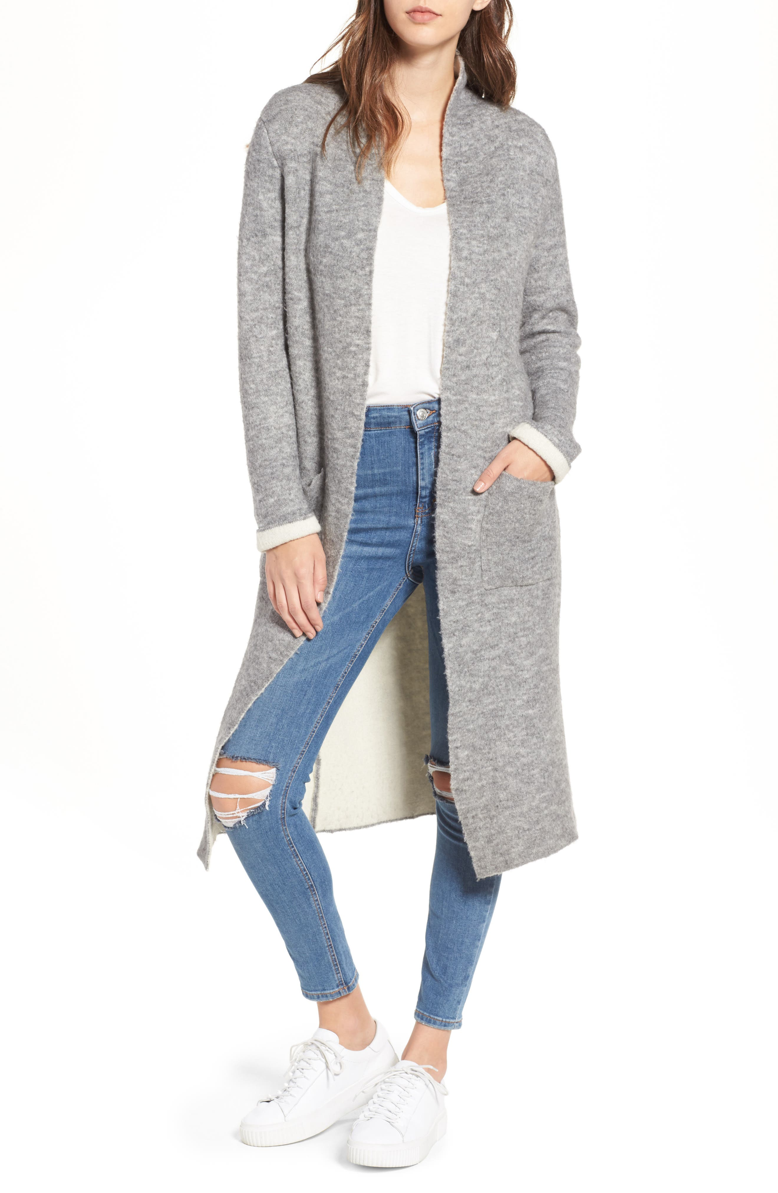 Main Image - Lost + Wander Astrid Duster Sweater
