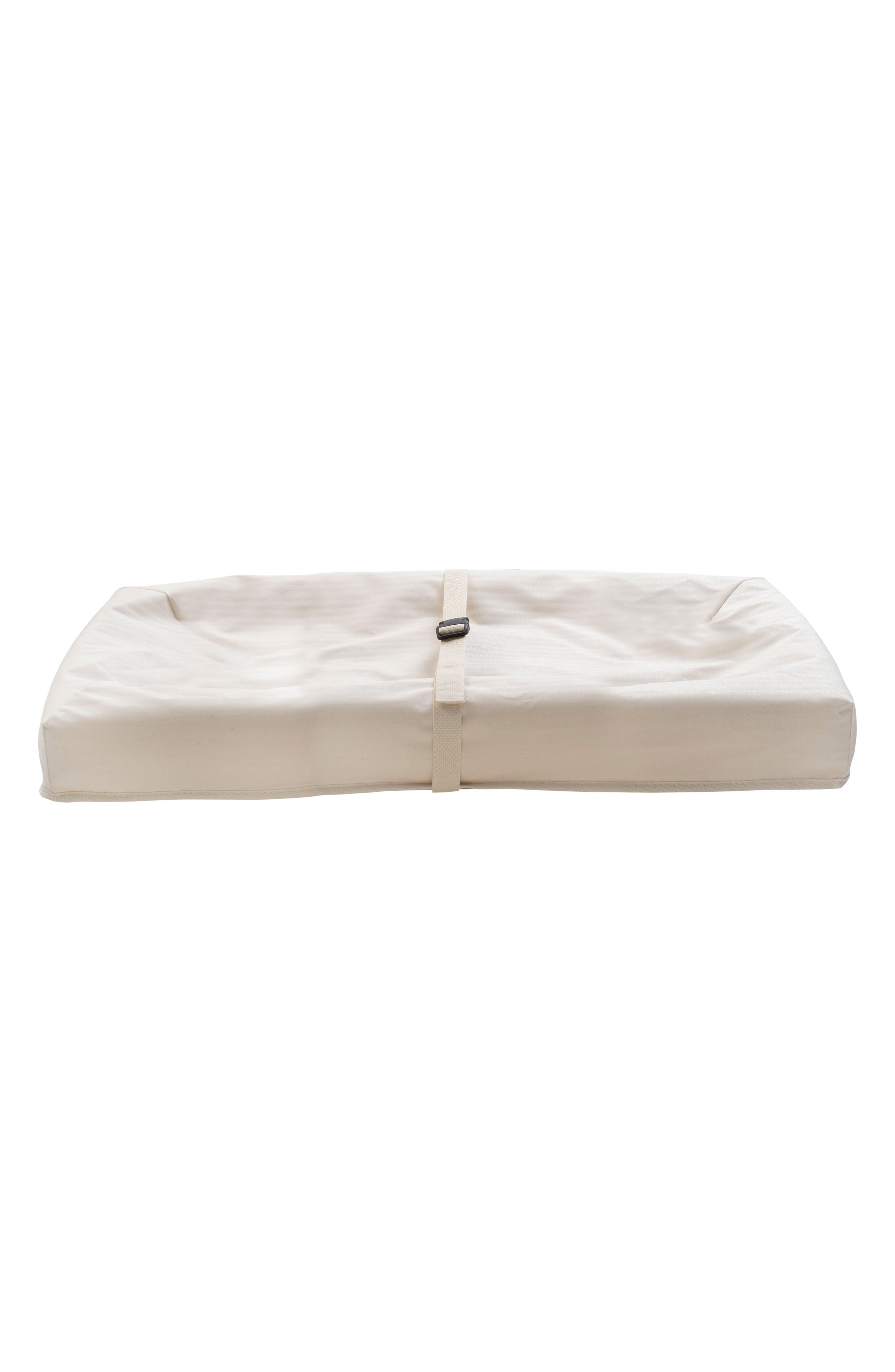 x Rosie Pope Pure & Secure Four-Sided Changing Pad,                             Main thumbnail 1, color,                             Natural
