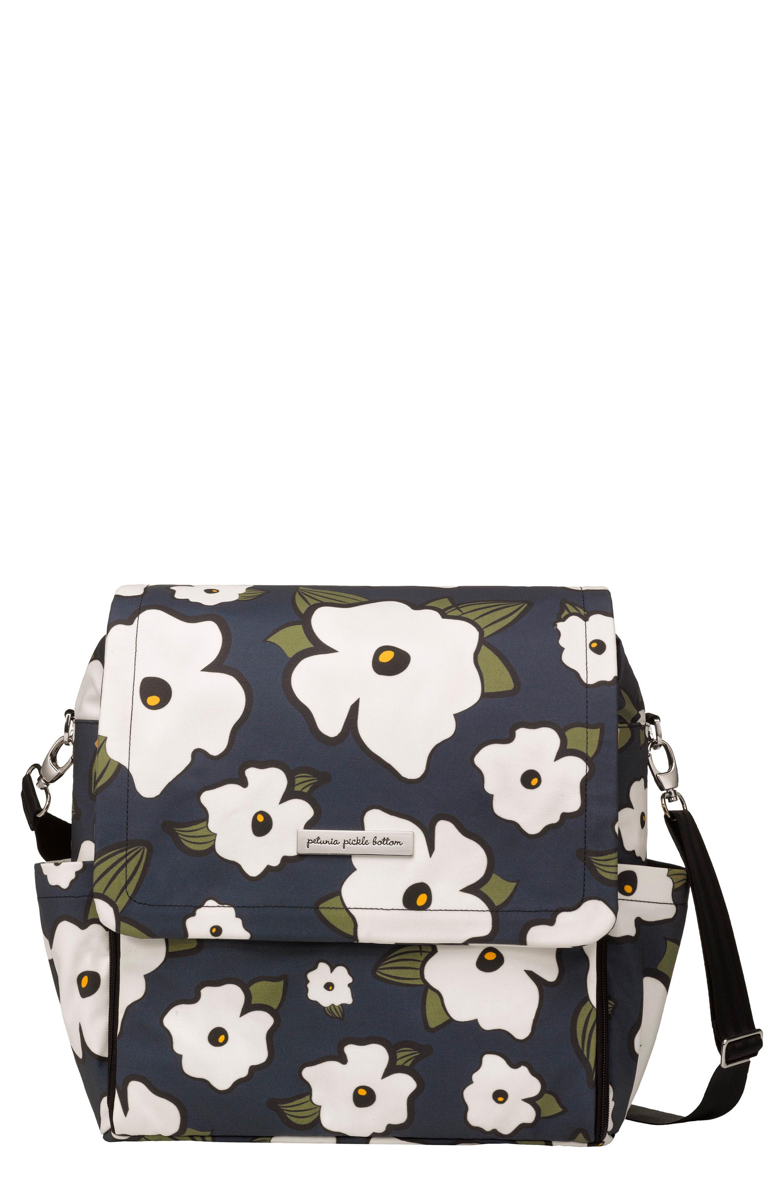 Alternate Image 1 Selected - Petunia Pickle Bottom 'Boxy Glazed' Diaper Bag