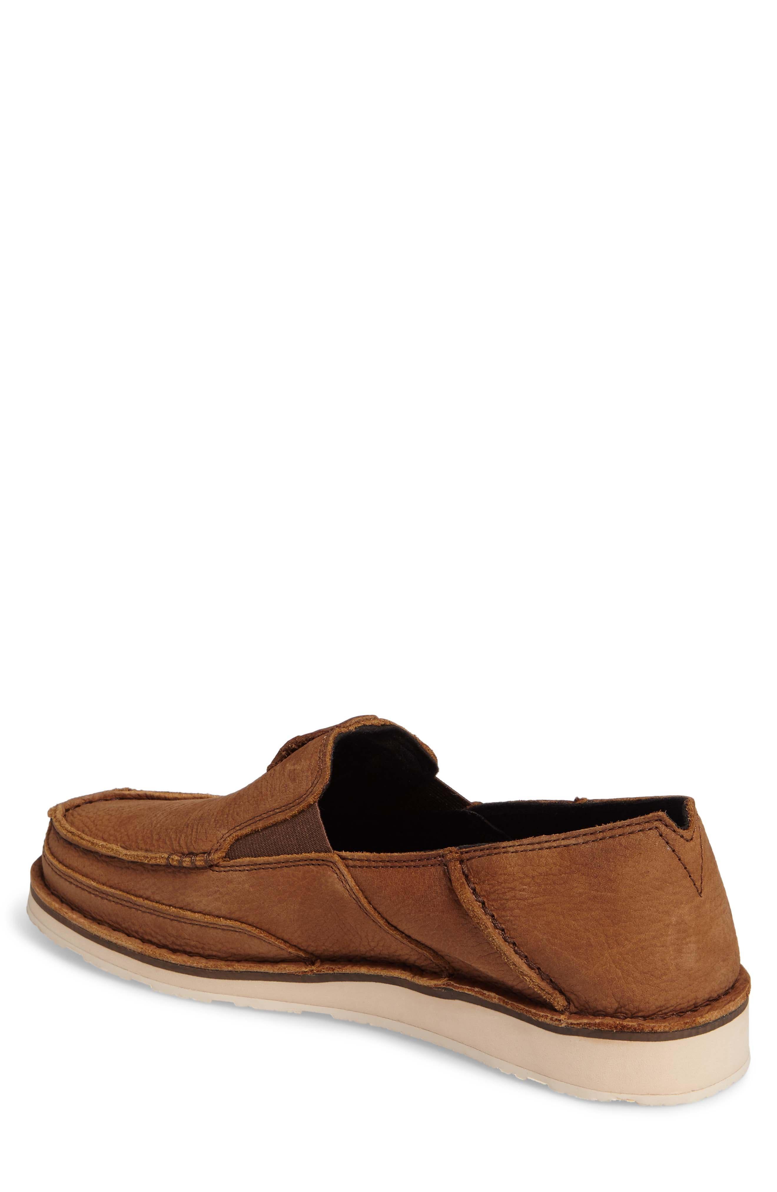'Cruiser' Slip-On,                             Alternate thumbnail 2, color,                             Aged Bark Leather