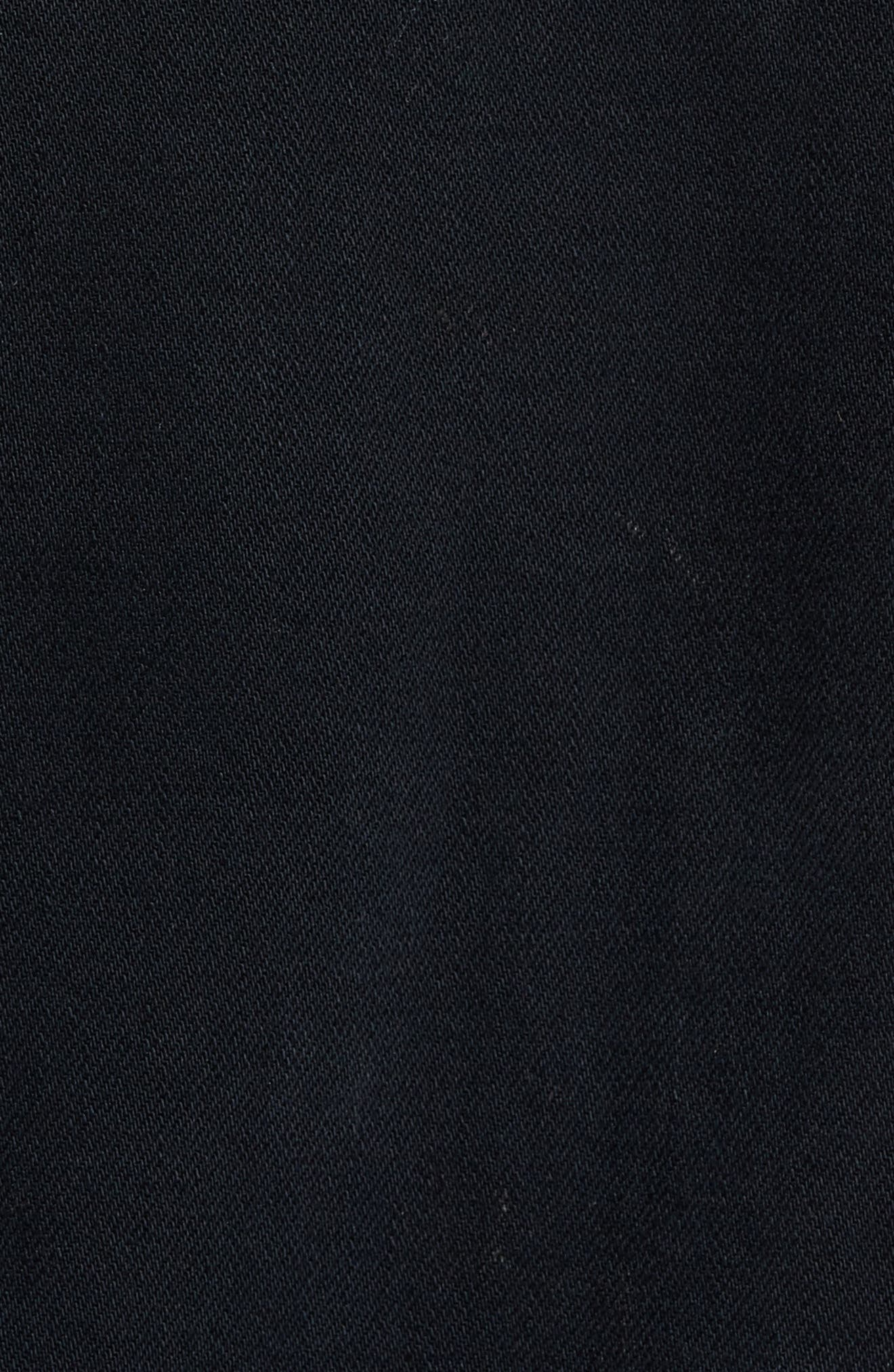Scout Denim Jacket,                             Alternate thumbnail 5, color,                             Black Gold