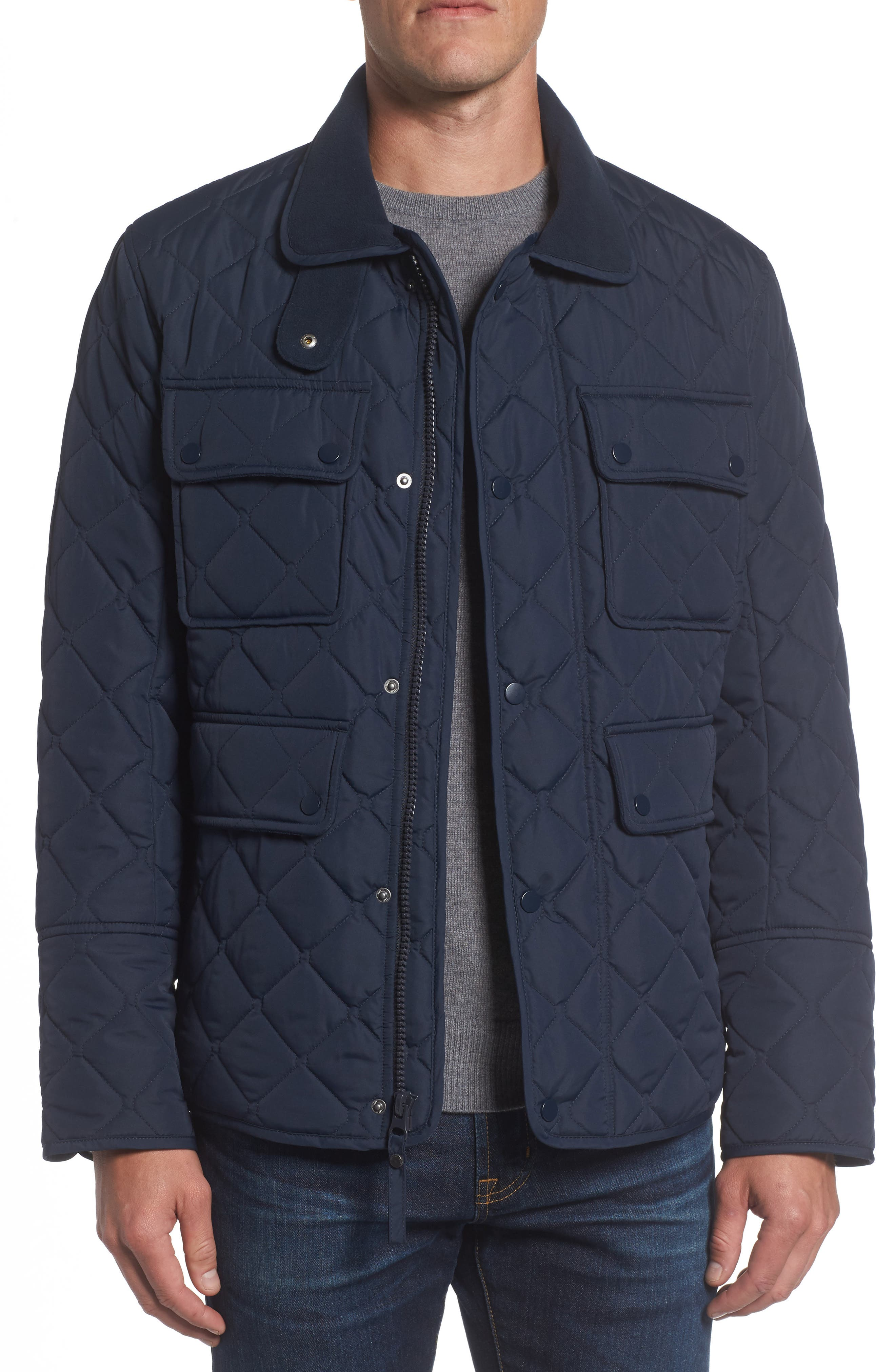Marc New York 4-Pocket Quilted Jacket