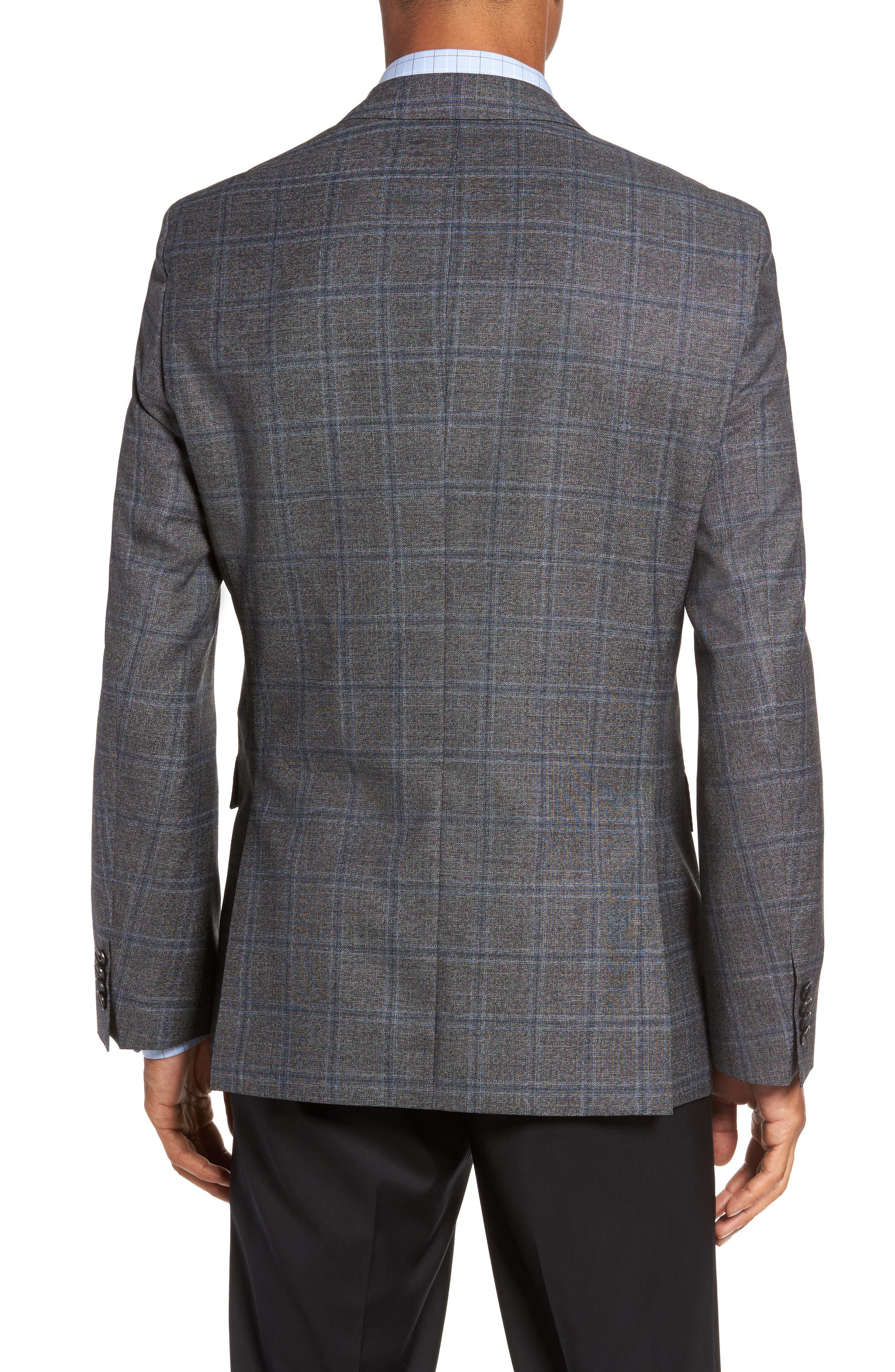Alternate Image 2  - BOSS Jeen Trim Fit Wool Sport Coat