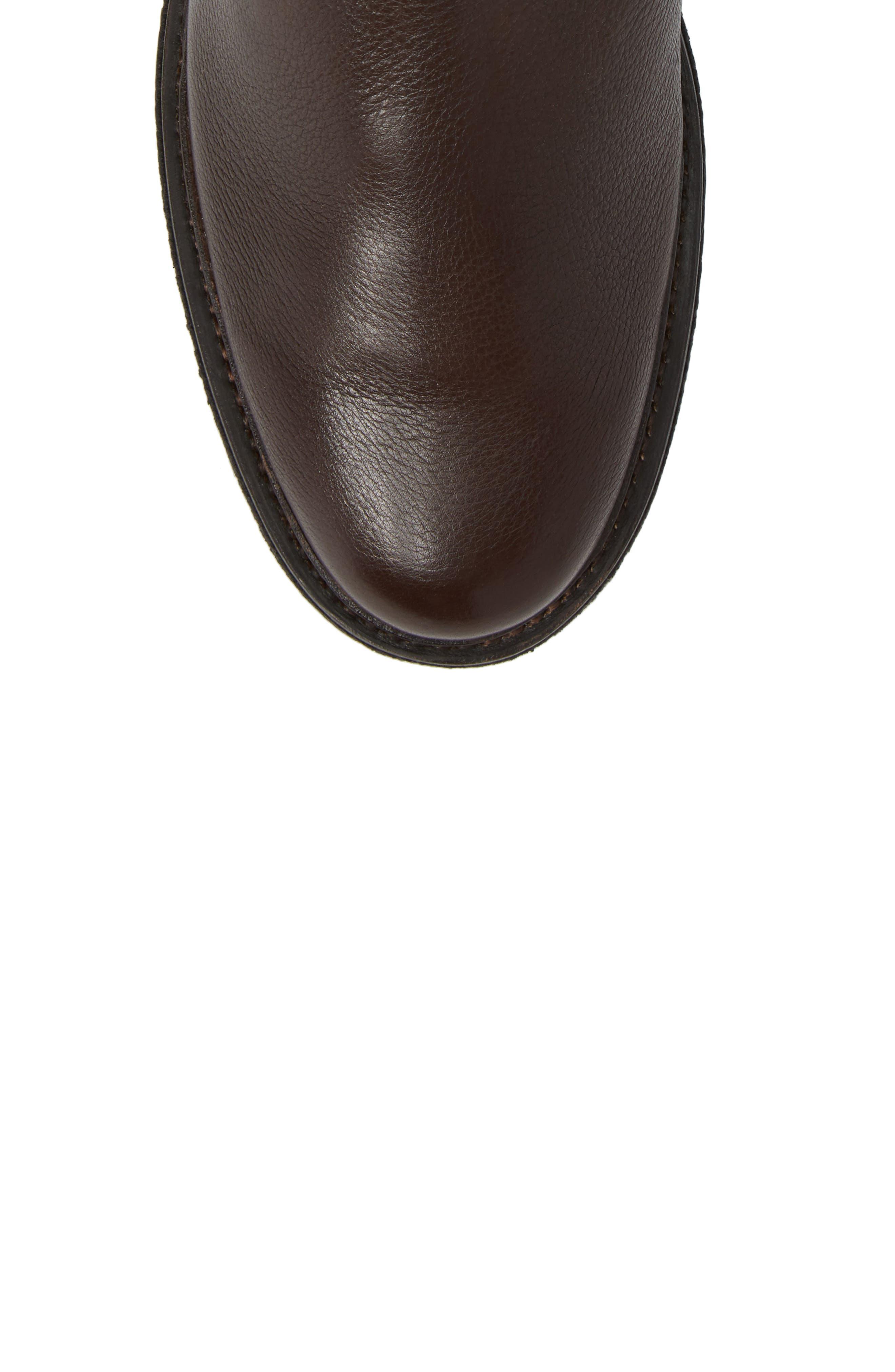 Country Chelsea Boot,                             Alternate thumbnail 5, color,                             Dark Brown