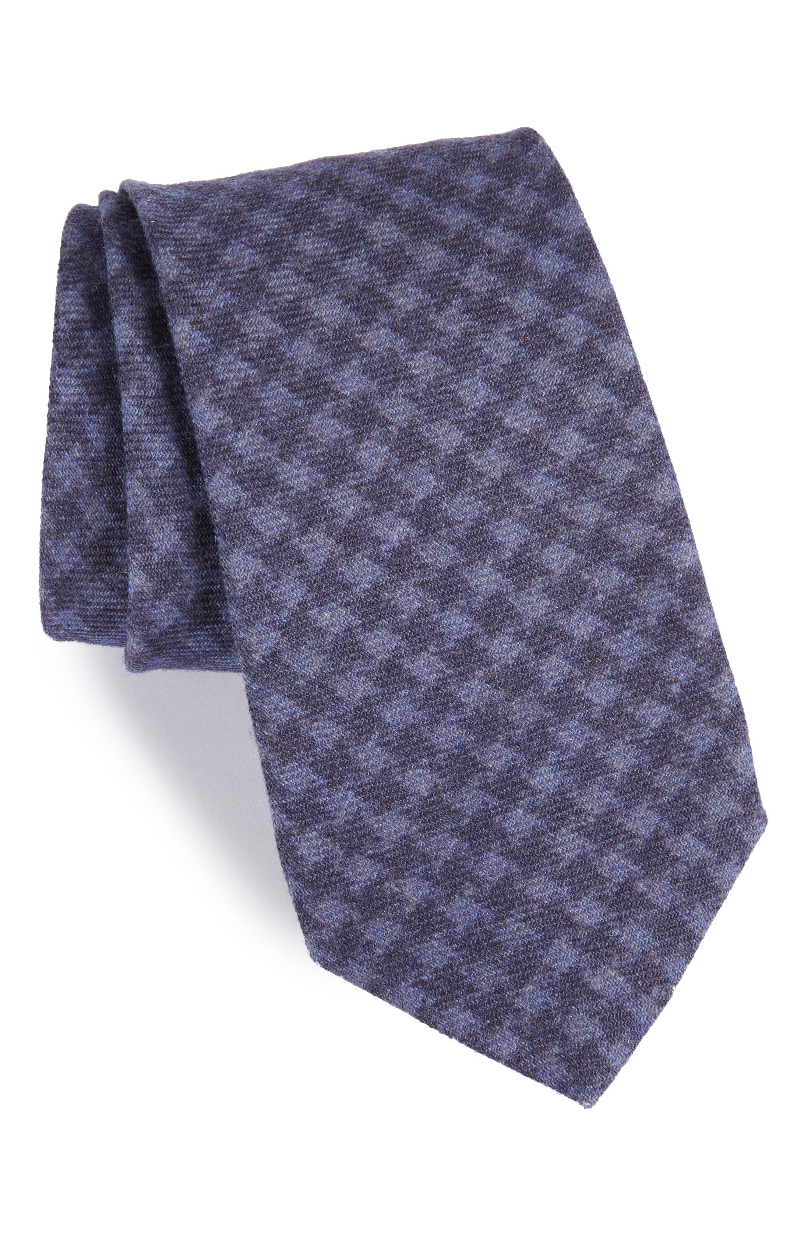 MICHAEL BASTIAN Houndstooth Wool Tie