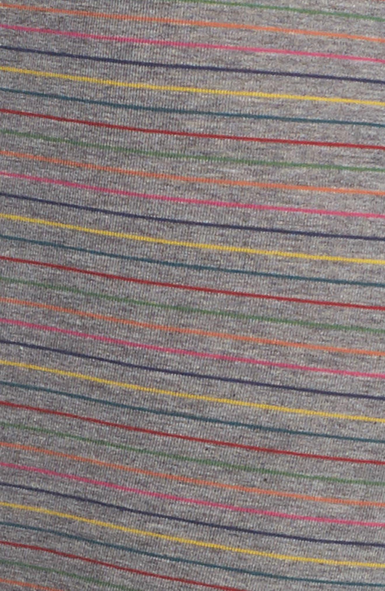 Stripe Trunks,                             Alternate thumbnail 4, color,                             Grey
